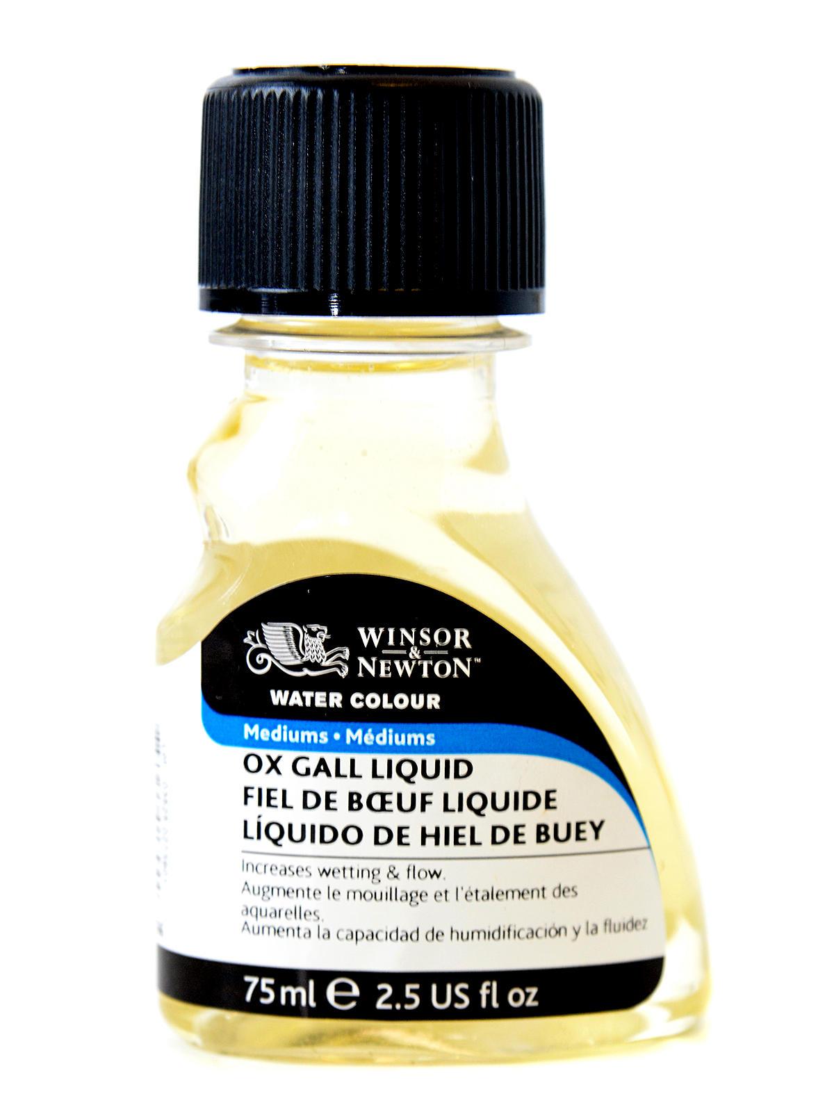 Water Colour Ox Gall Liquid Medium