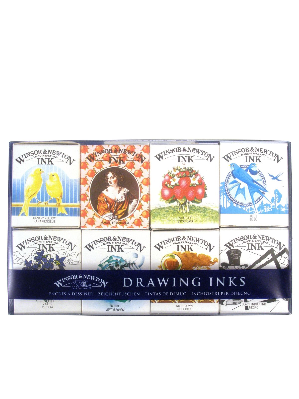 Henry Collection Drawing Ink Pack