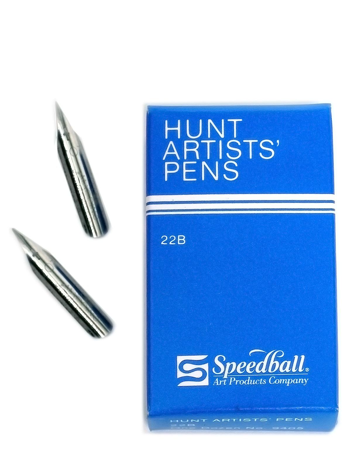 Hunt Artists' Pen Nibs--Extra Fine No. 22-B