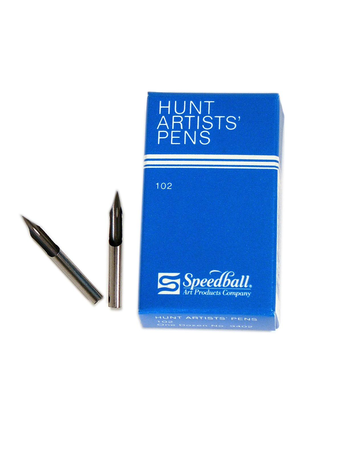 Hunt Artists' Pen Nibs--Crow Quill No. 102