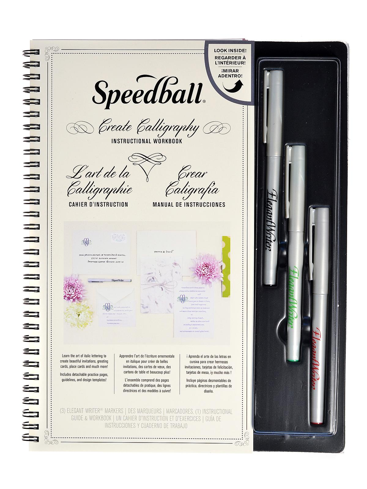 Speedball Lettershop Calligraphy Project Set