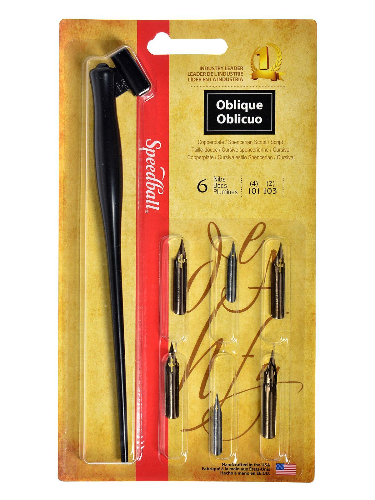 Oblique Pen Set