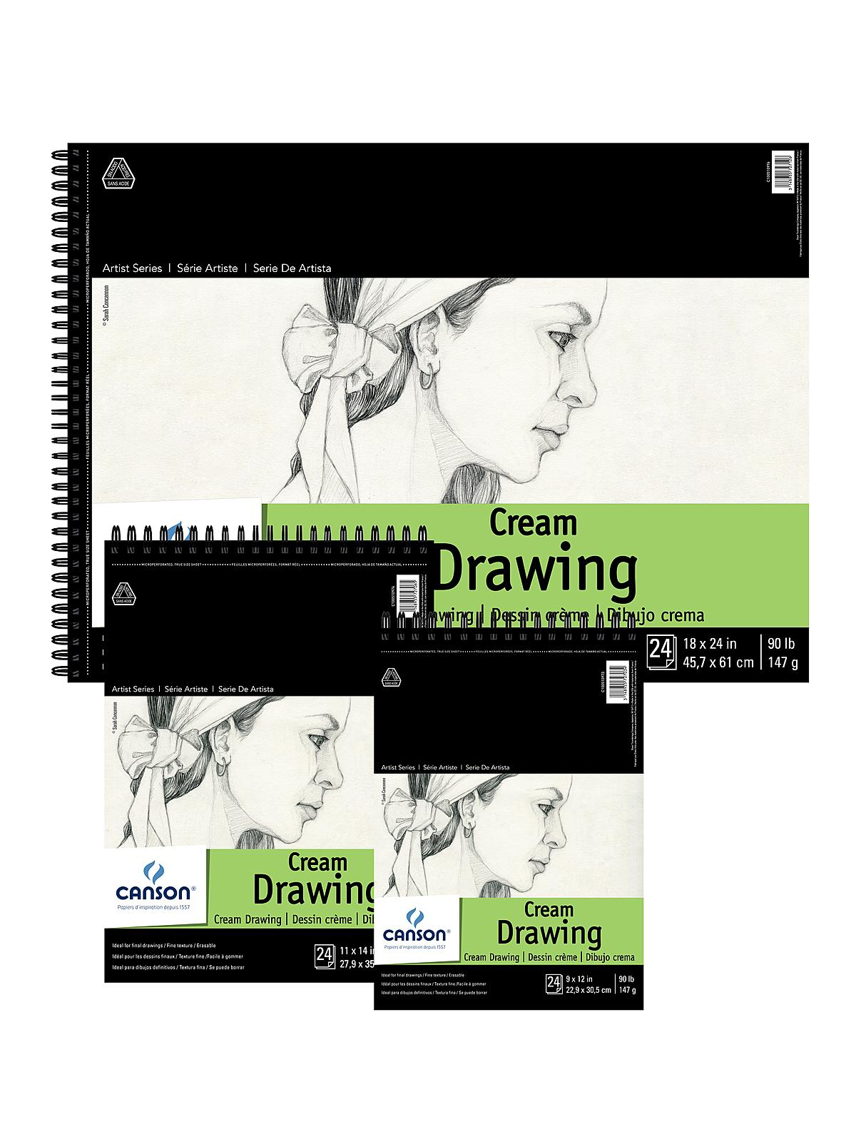 Classic Cream Drawing Pad