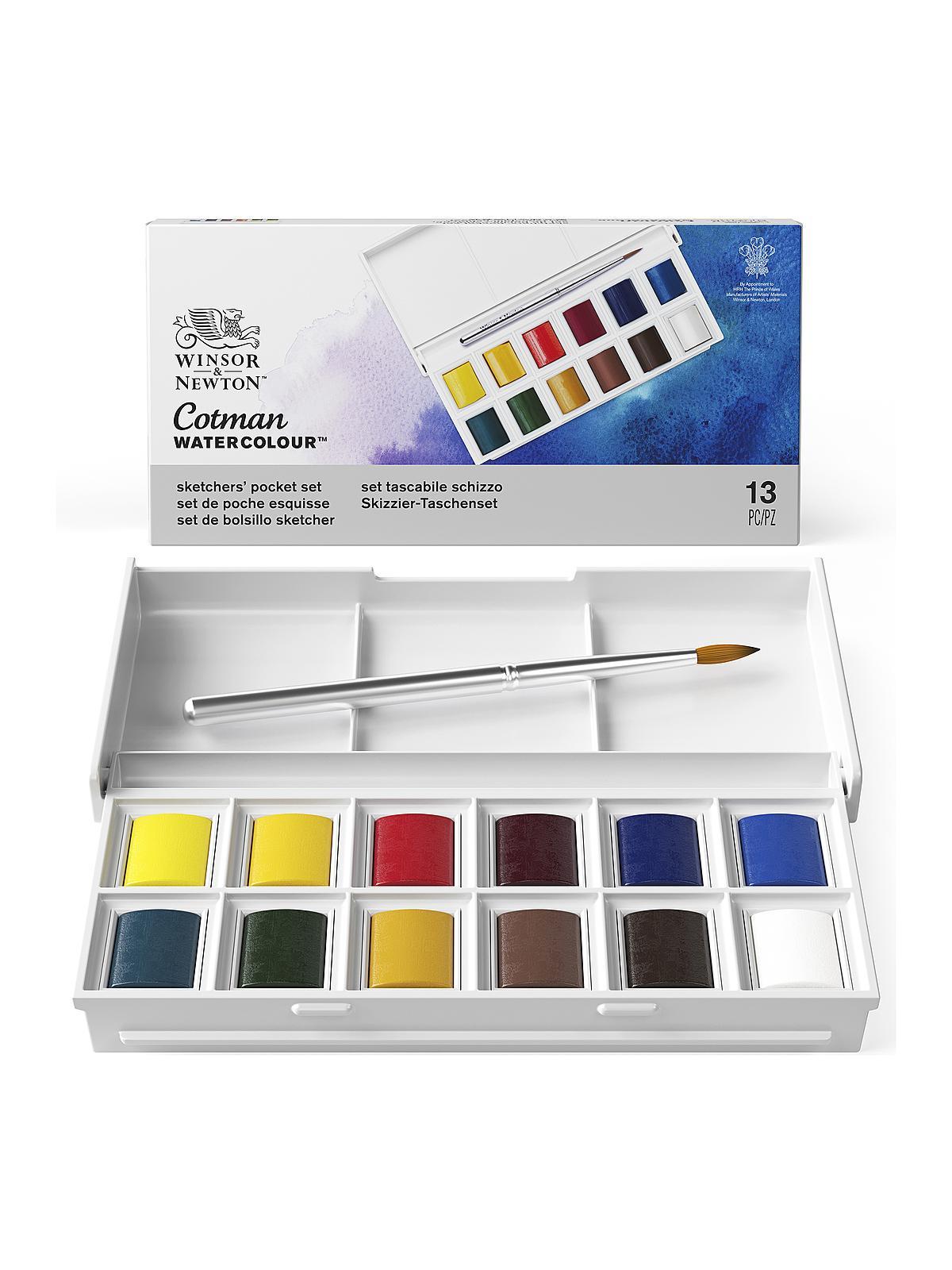 Winsor & Newton - Cotman Water Colour Sketchers' Pocket Box