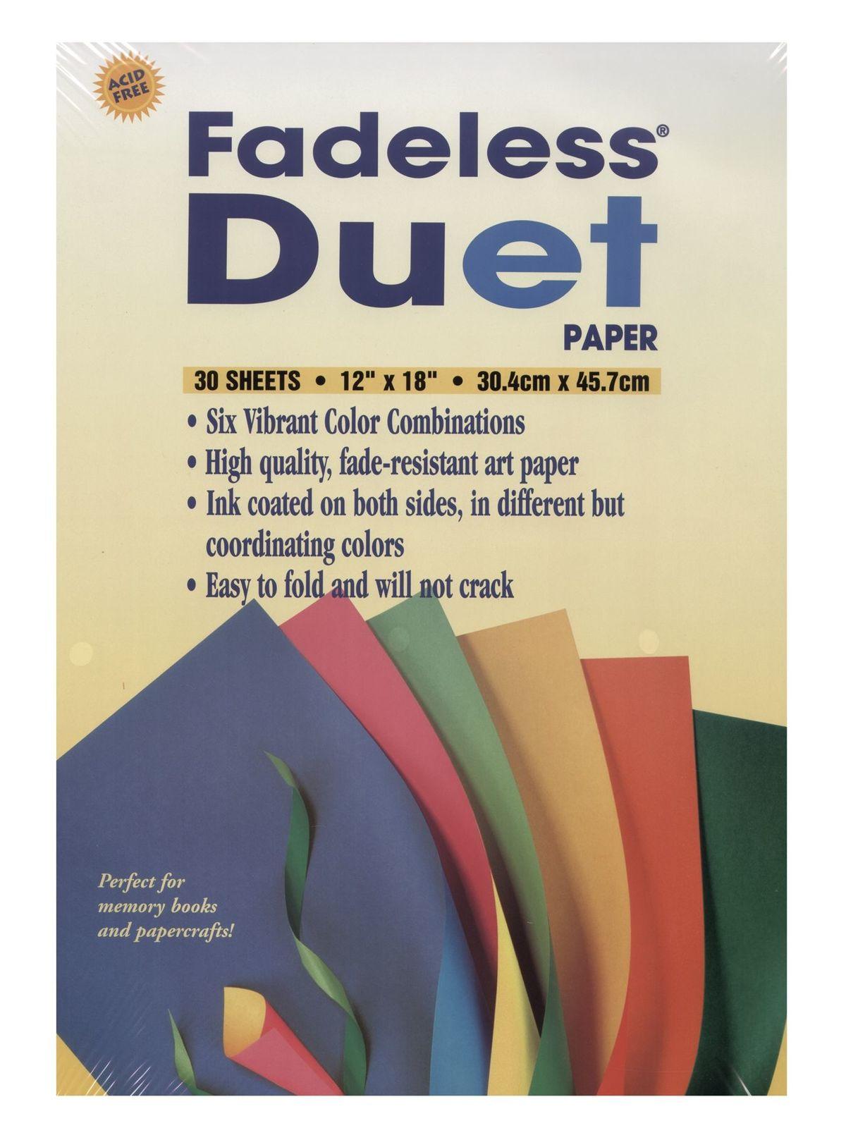 Fadeless Duet Paper