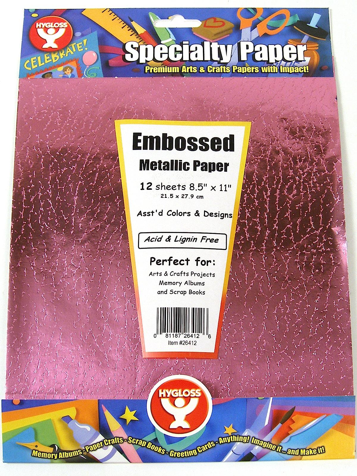 Metallic Embossed Paper