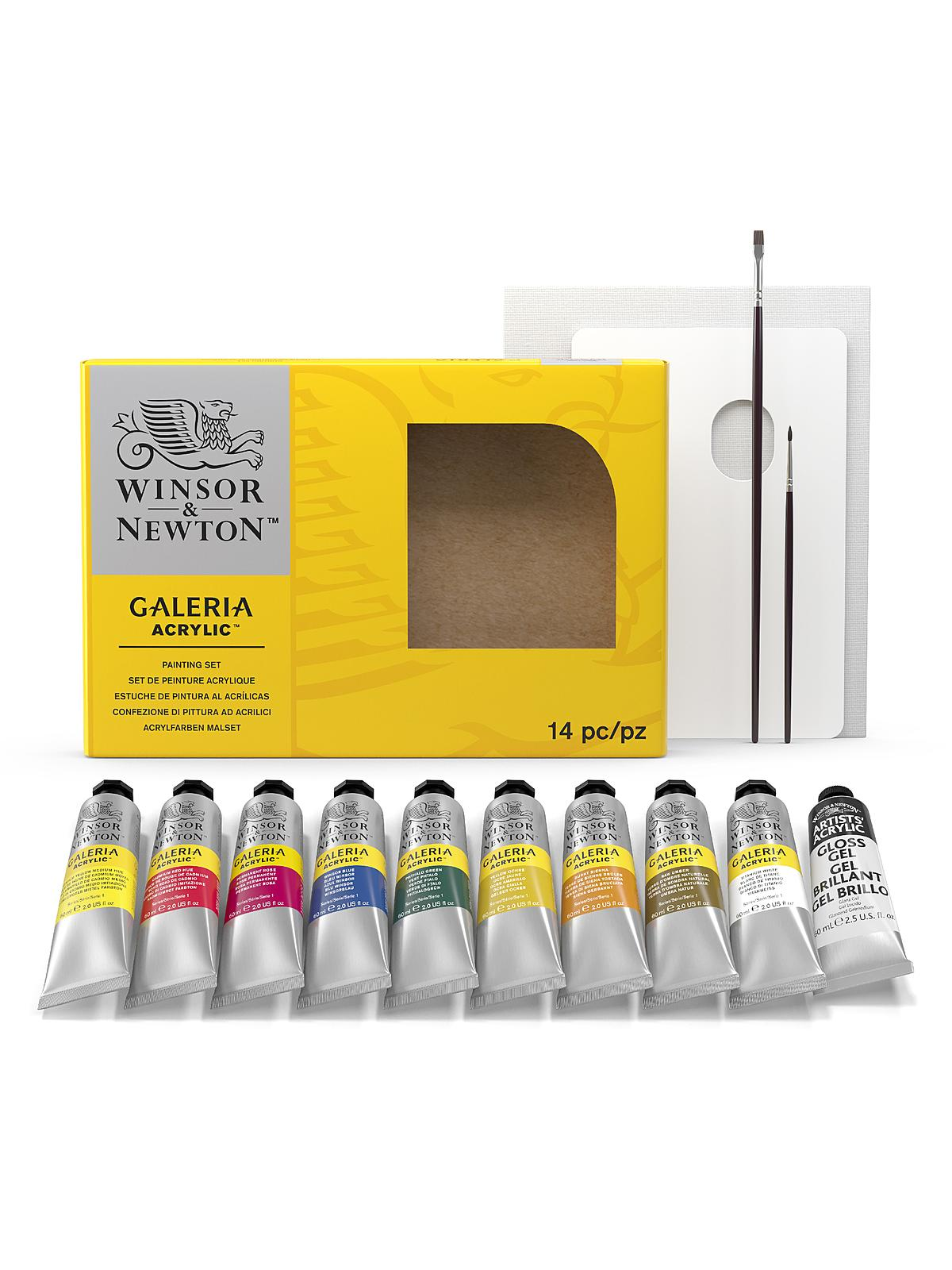 Galeria Acrylic Colour Complete Set
