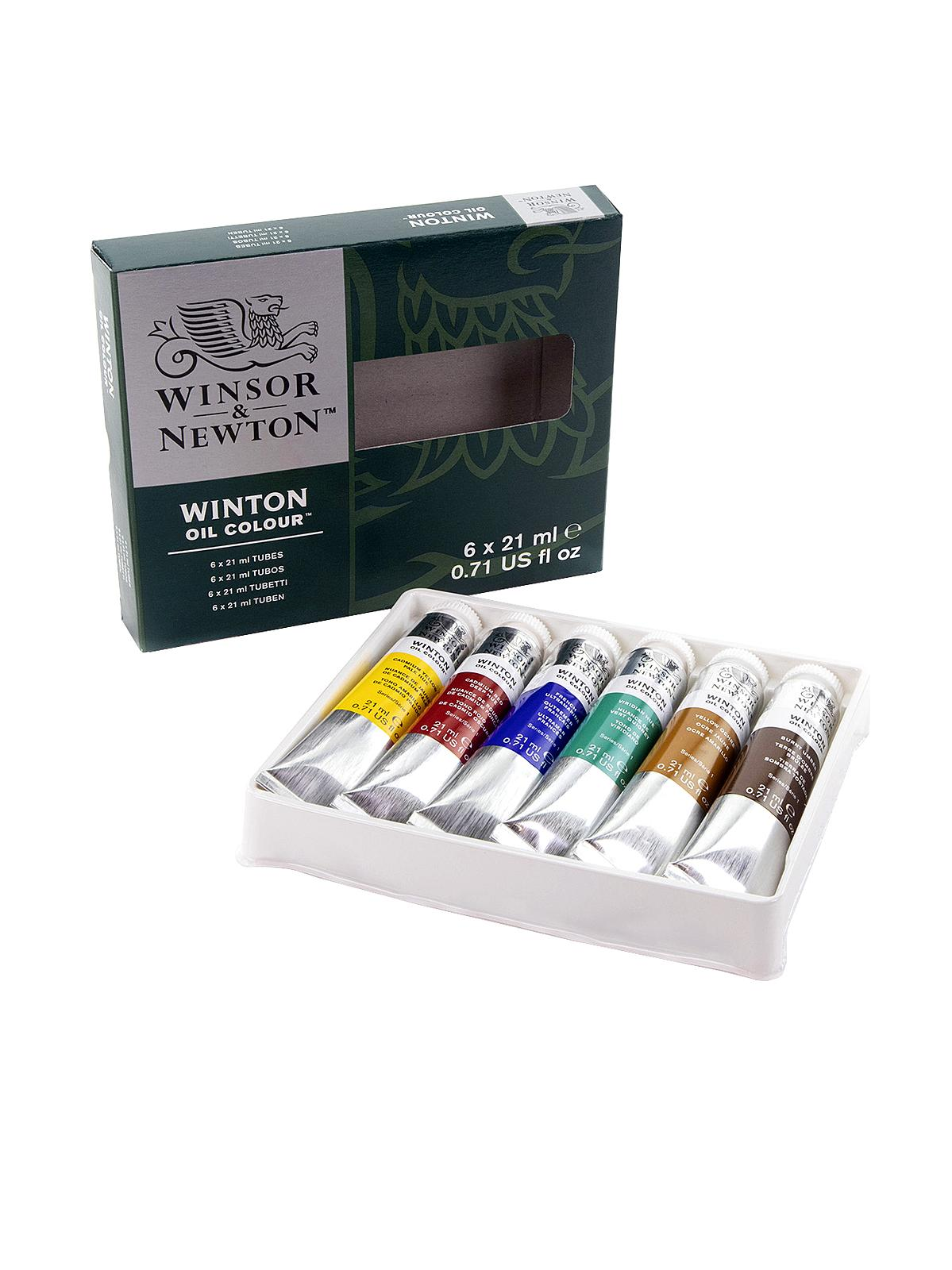 Winton Oil Colour Intro Set
