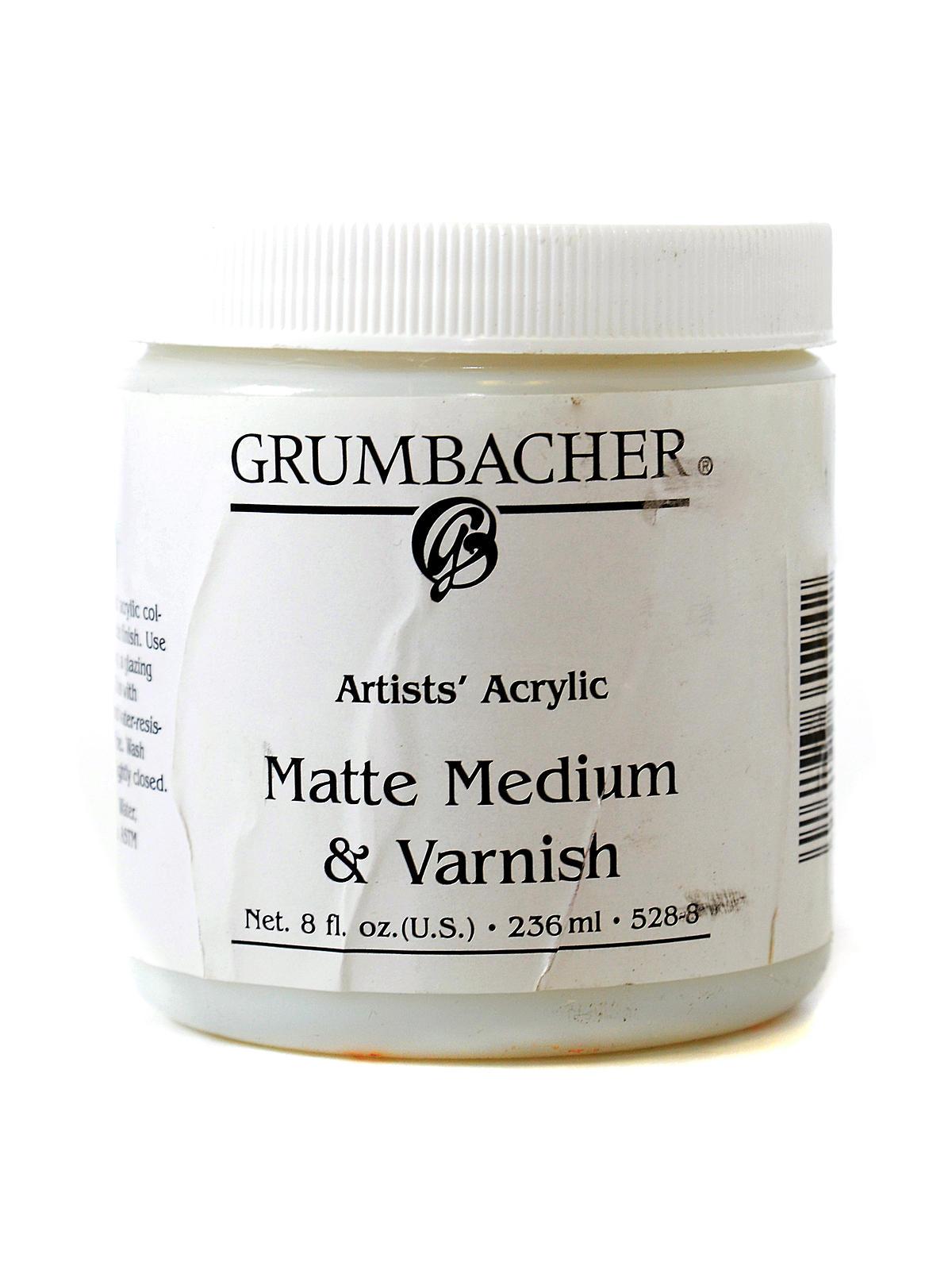 Artists' Acrylic Matte Medium & Varnish