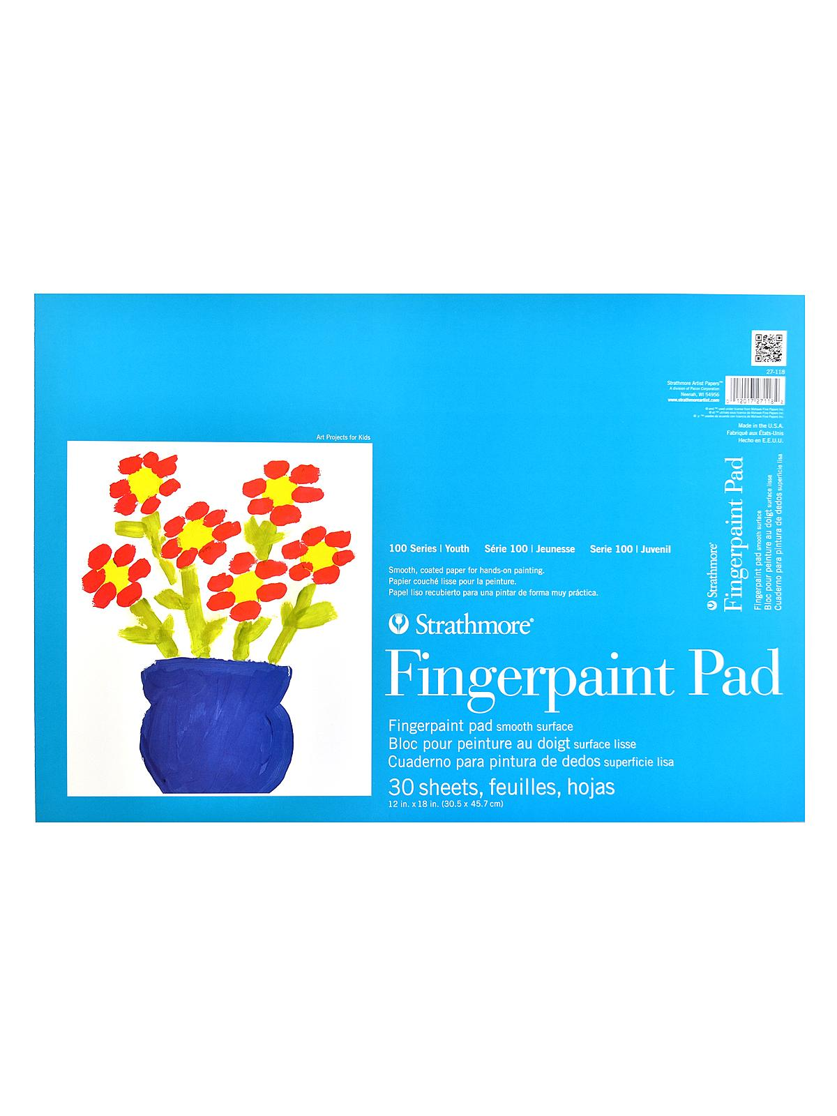 Kids Finger Painting Book