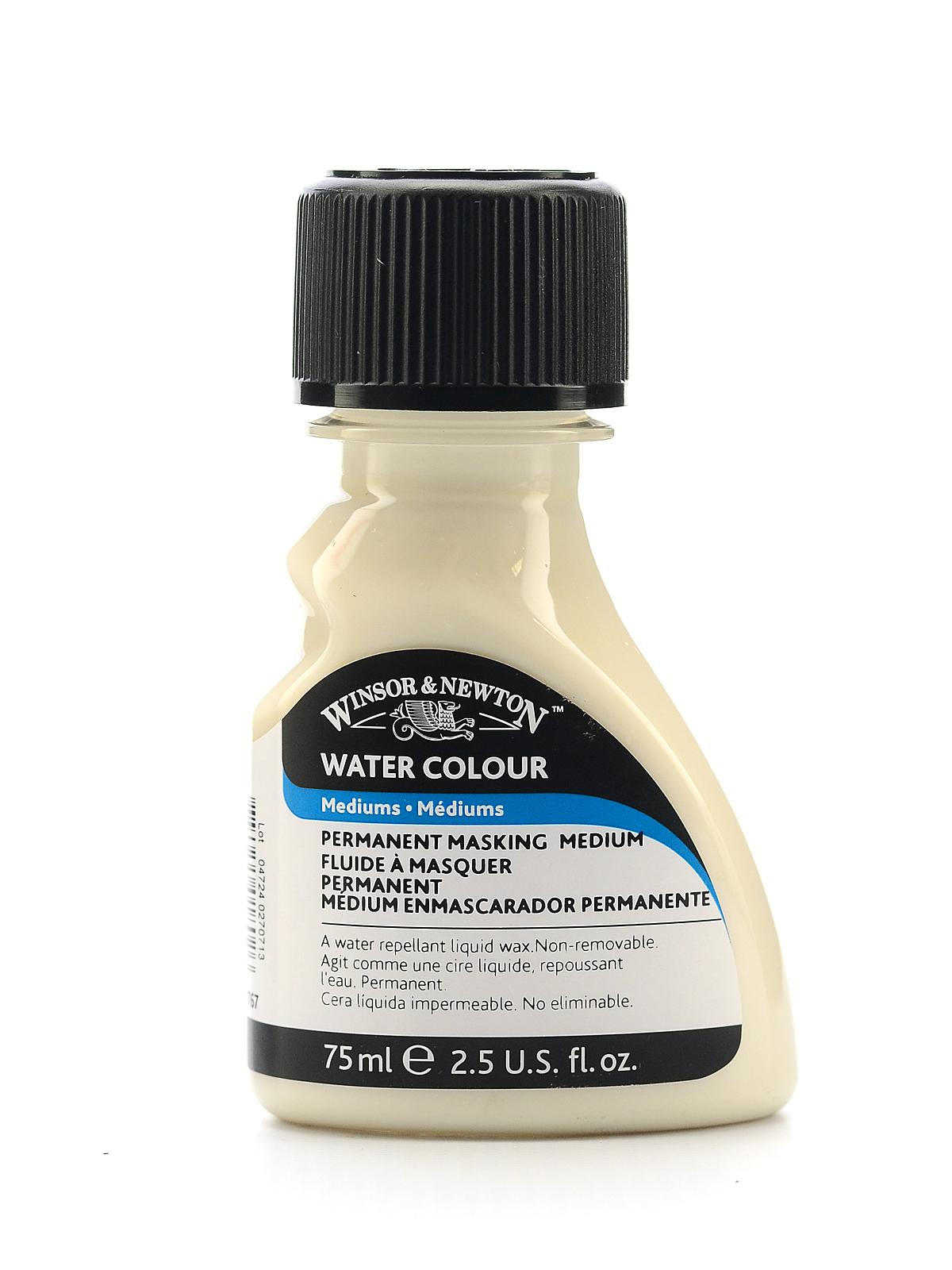 Water Colour Permanent Masking Medium