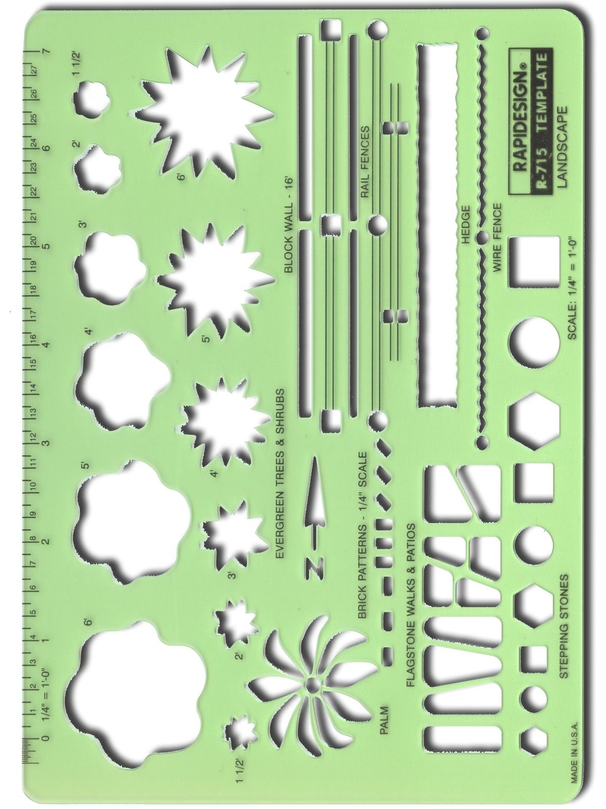 Landscape Drafting and Design Template