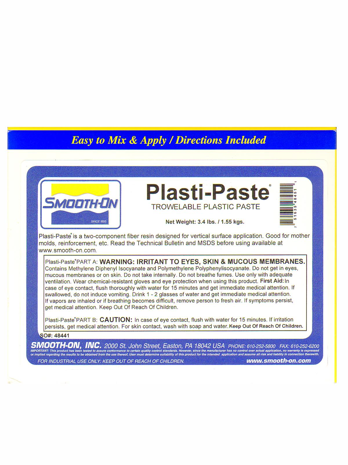 Plasti-Paste Support Shell