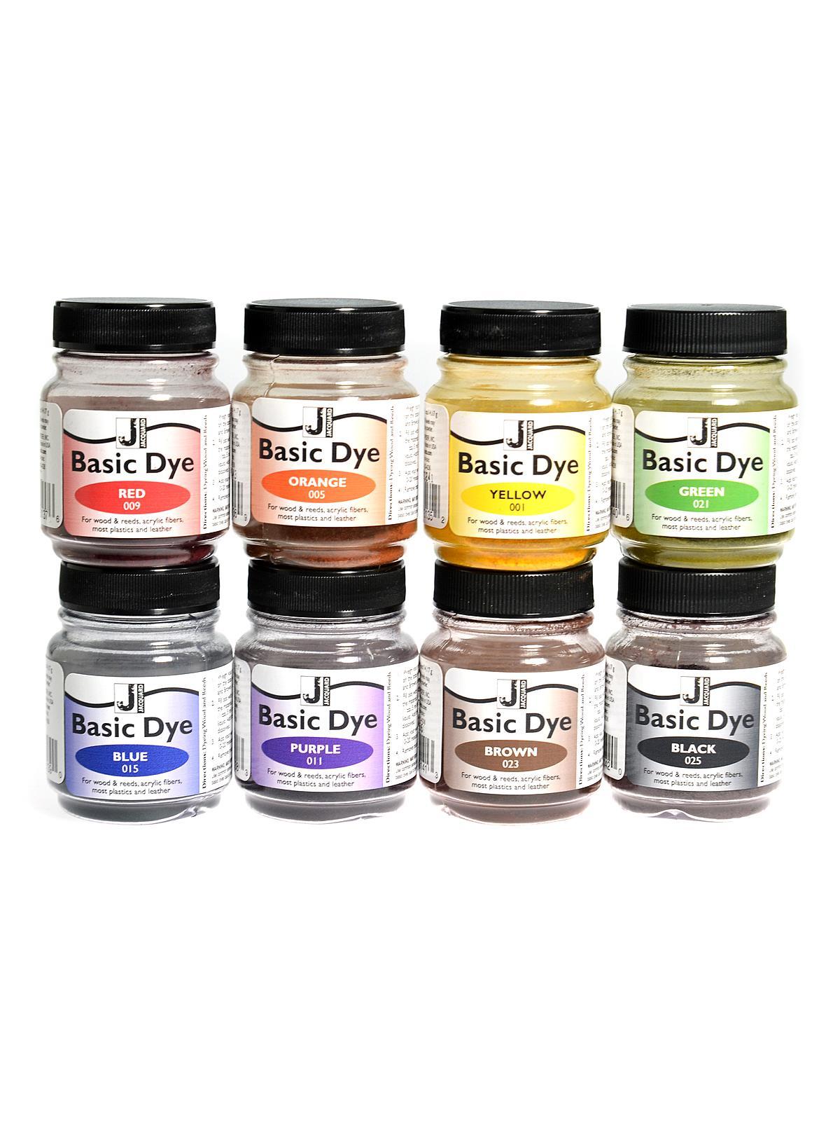 Basic Dye Set