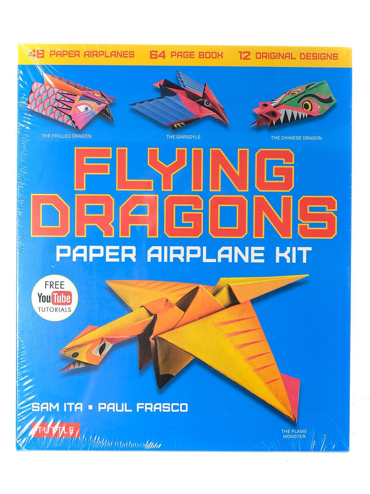 Flying Dragons: Paper Airplane Kit