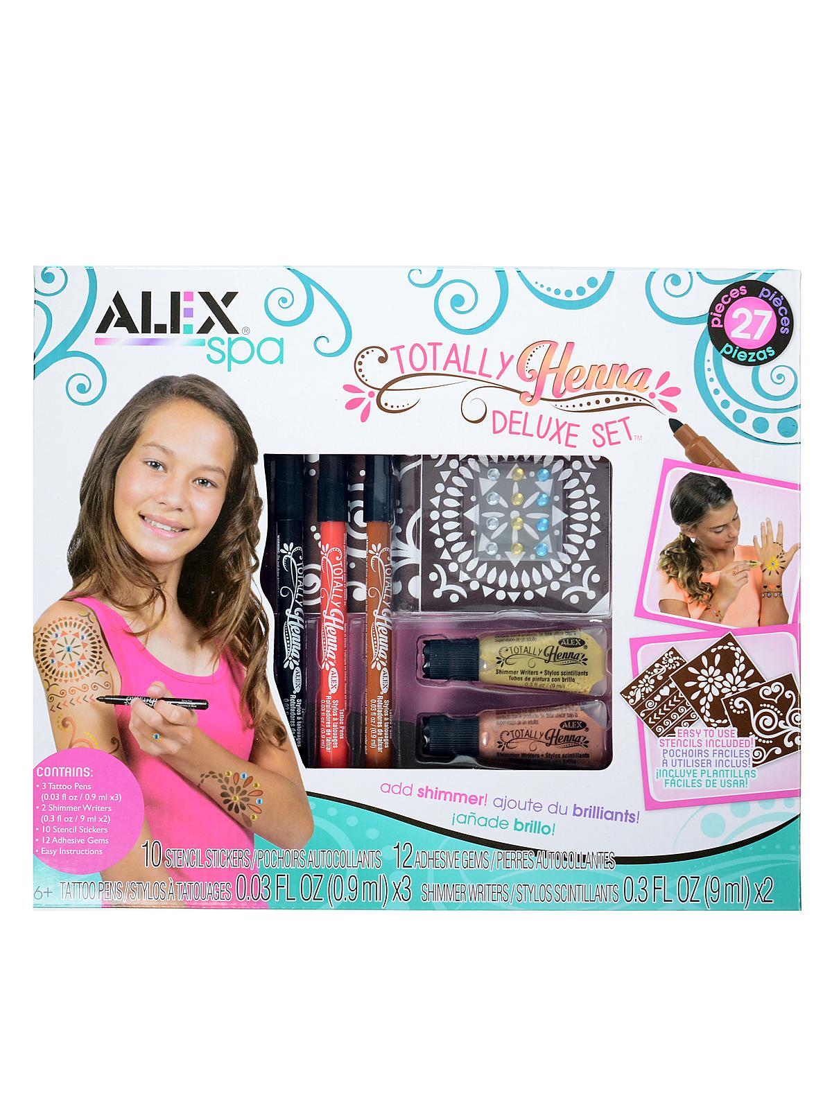 Spa Totally Henna Deluxe Set