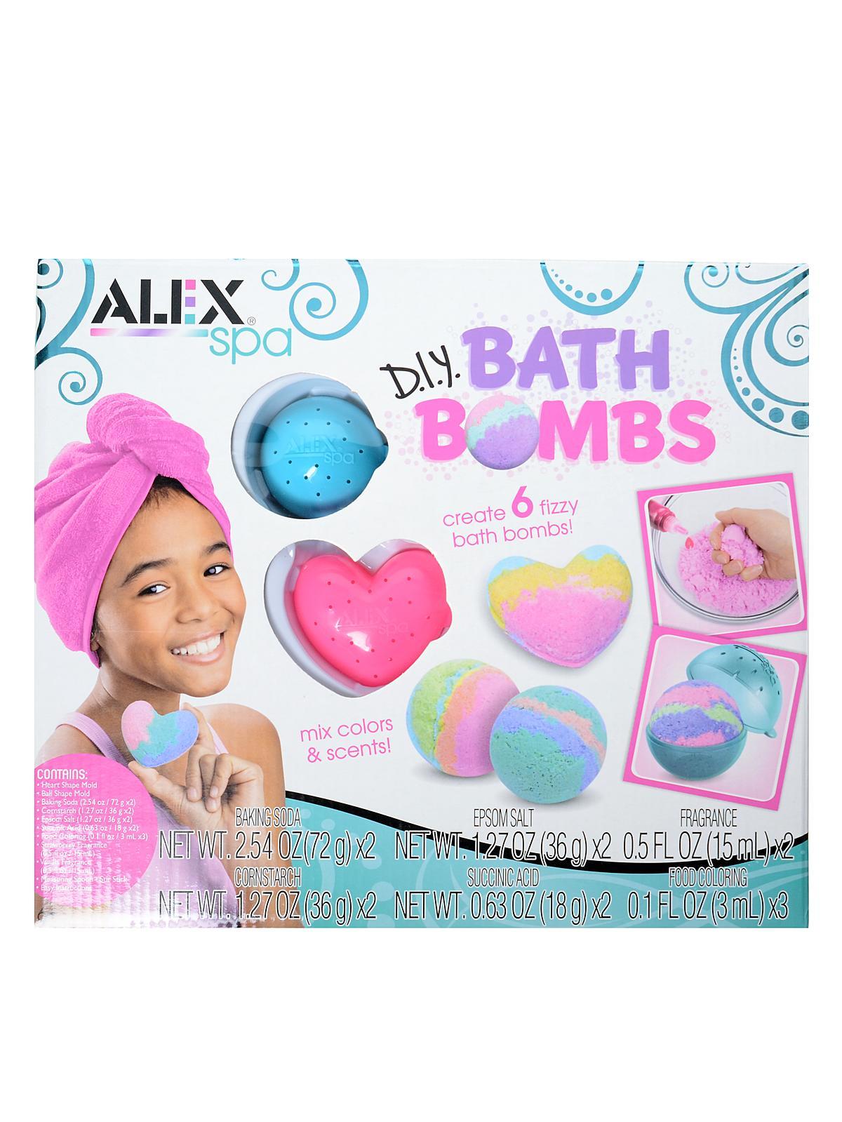 Spa DIY Bath Bombs