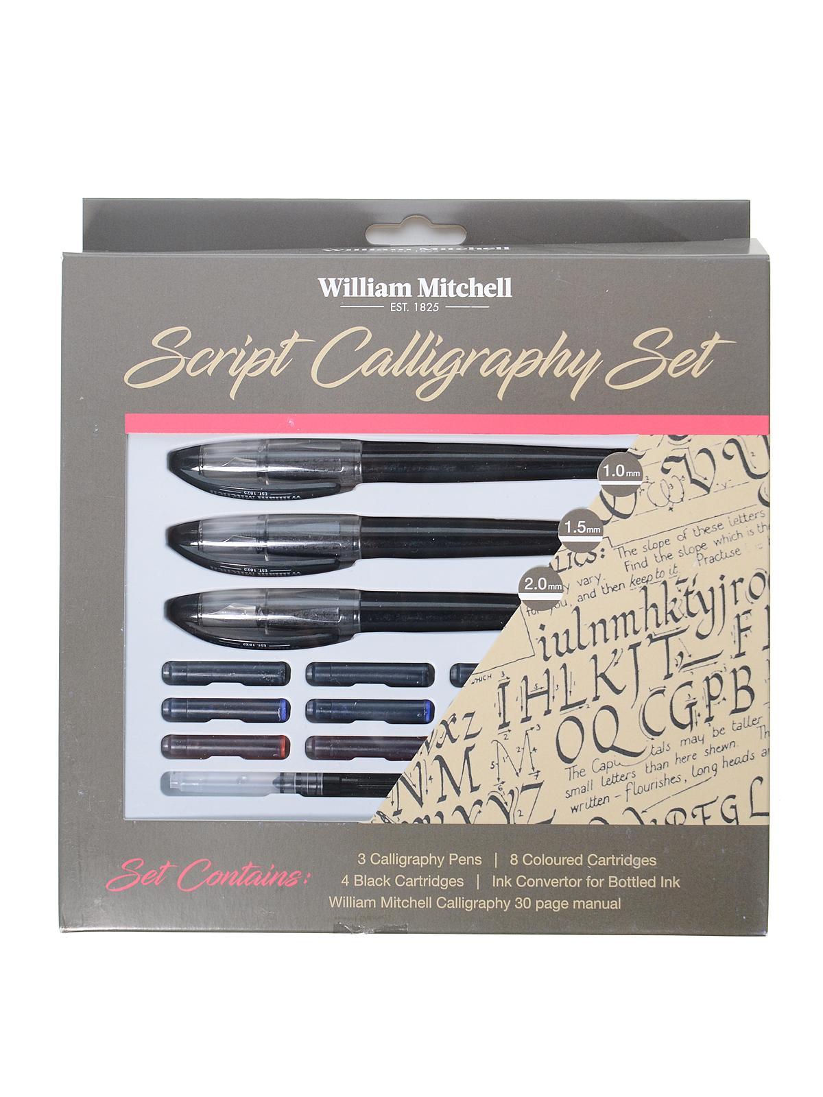 Script Calligraphy Set