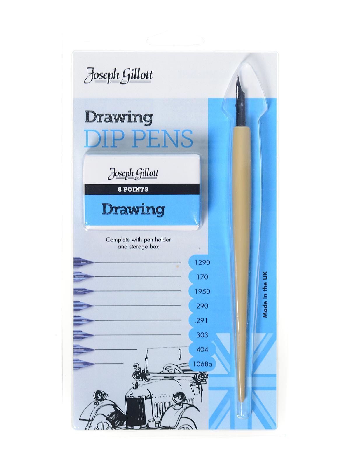 Joseph Gillott Drawing Dip Pens