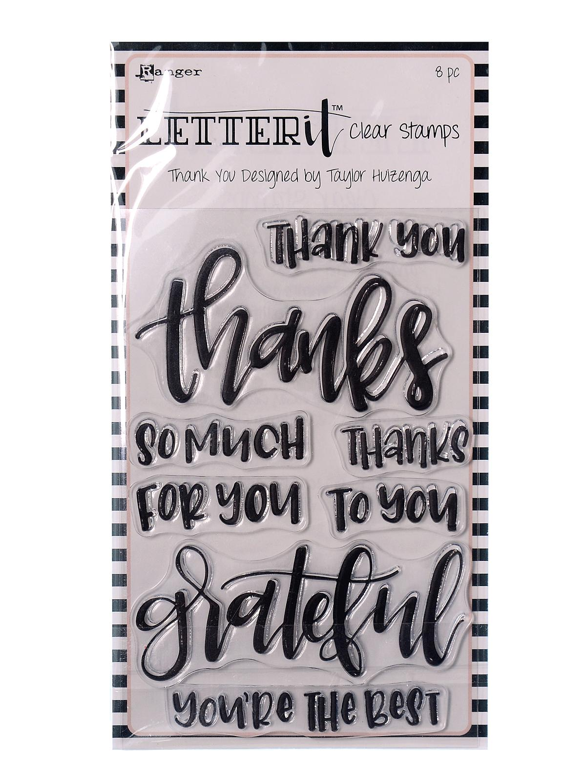 Letter It Clear Stamp Sets