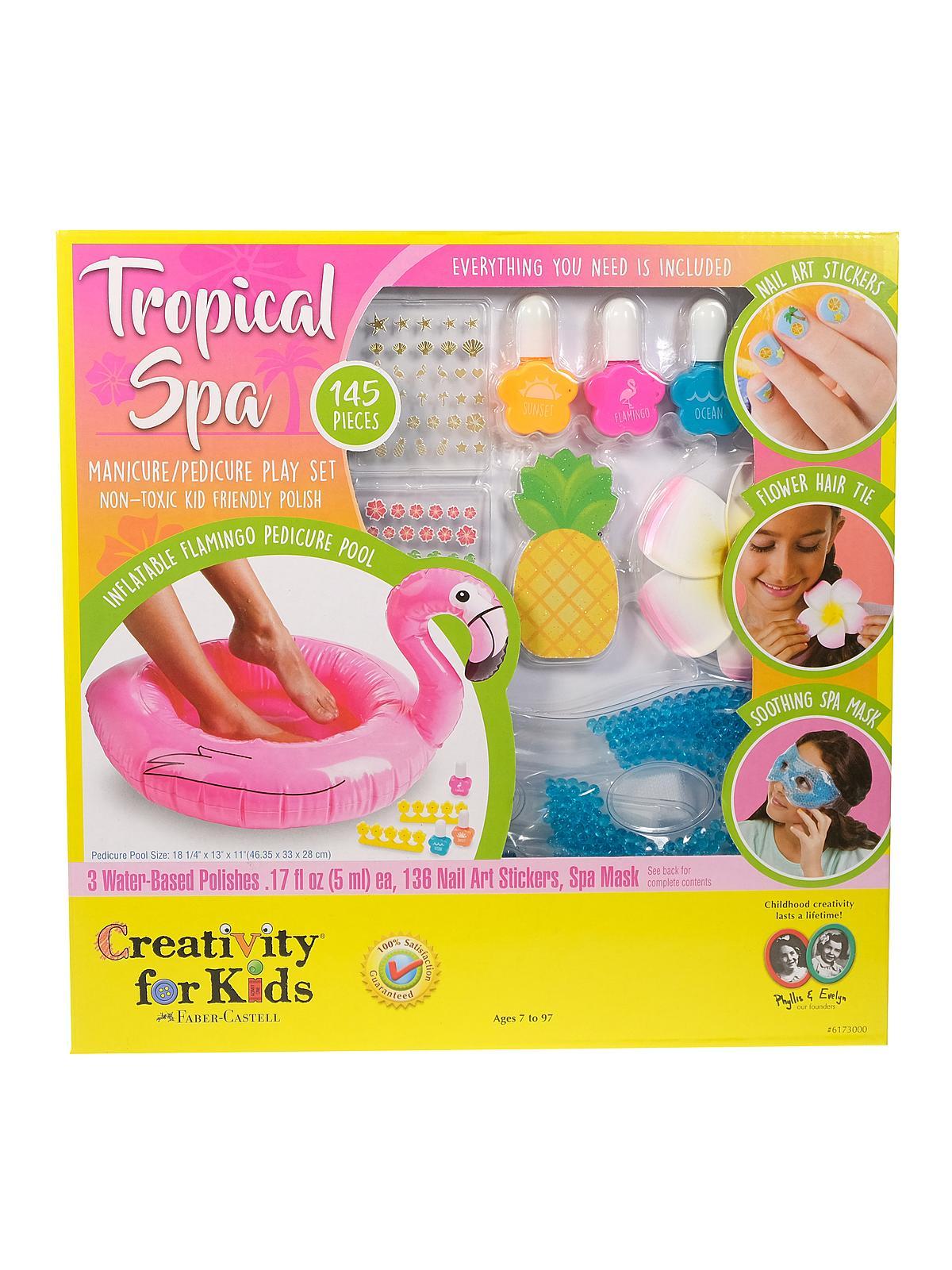 Creativity For Kids - Tropical Spa