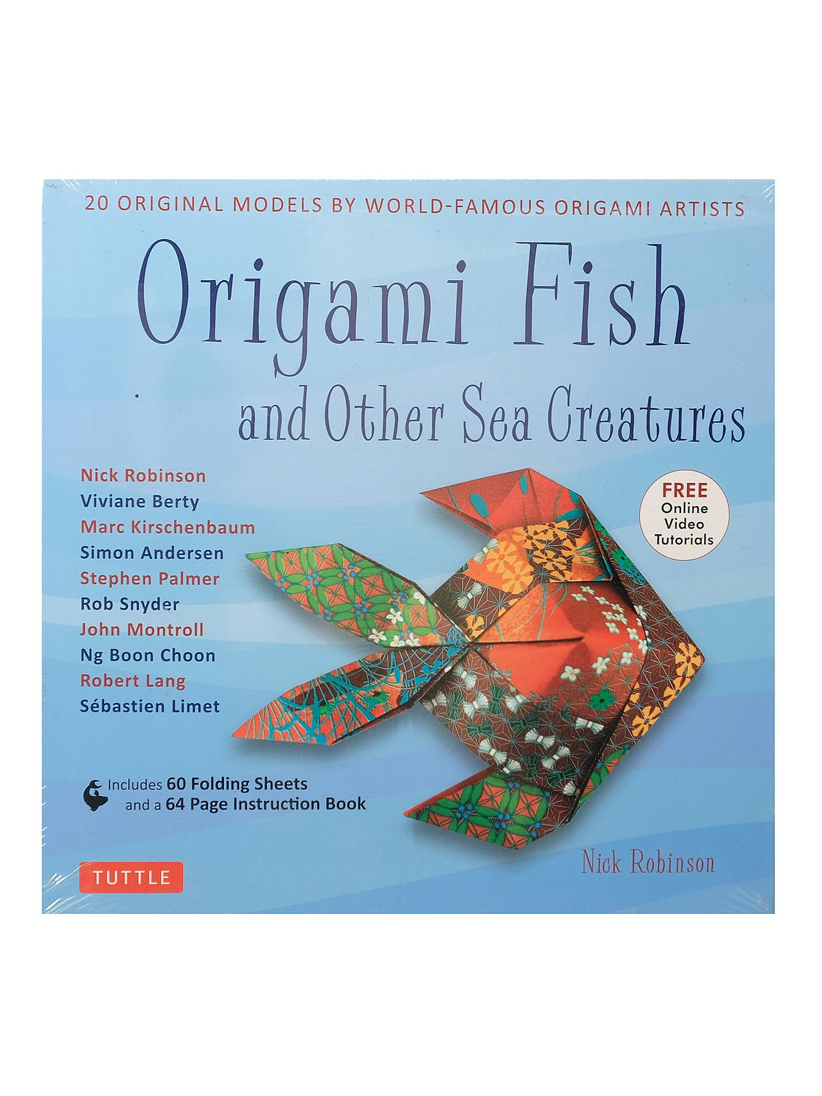Origami Fish & Other Sea Creatures Kit
