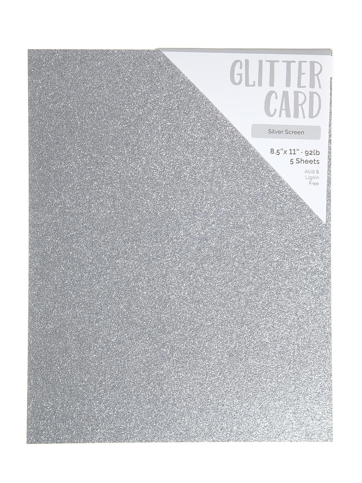 Craft Perfect Glitter Card