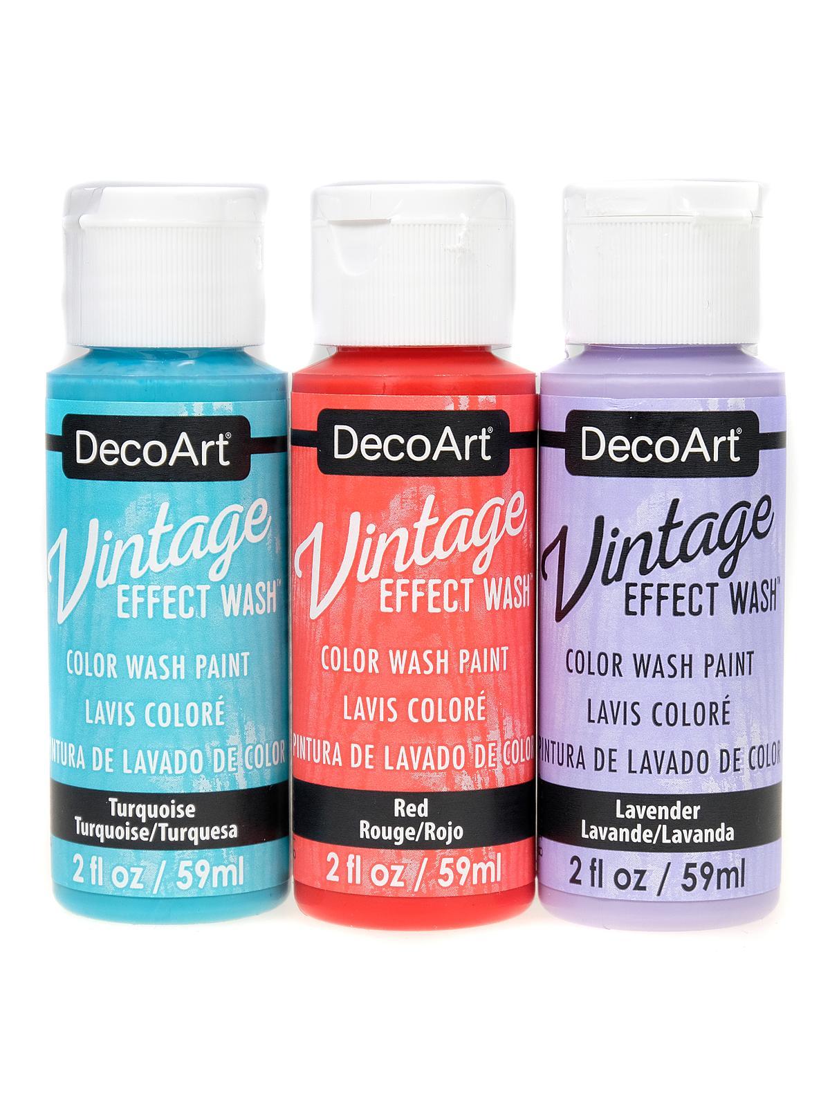 Vintage Effects Wash Paint