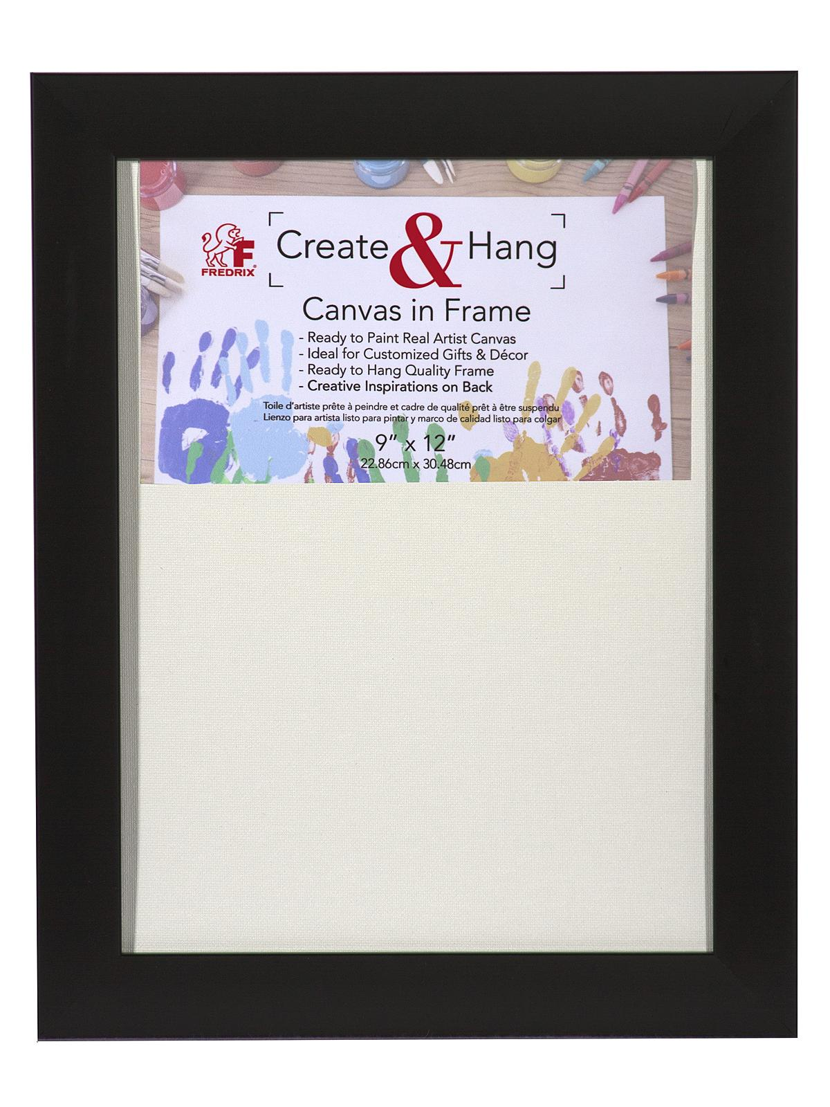 Create & Hang Canvas in Frame