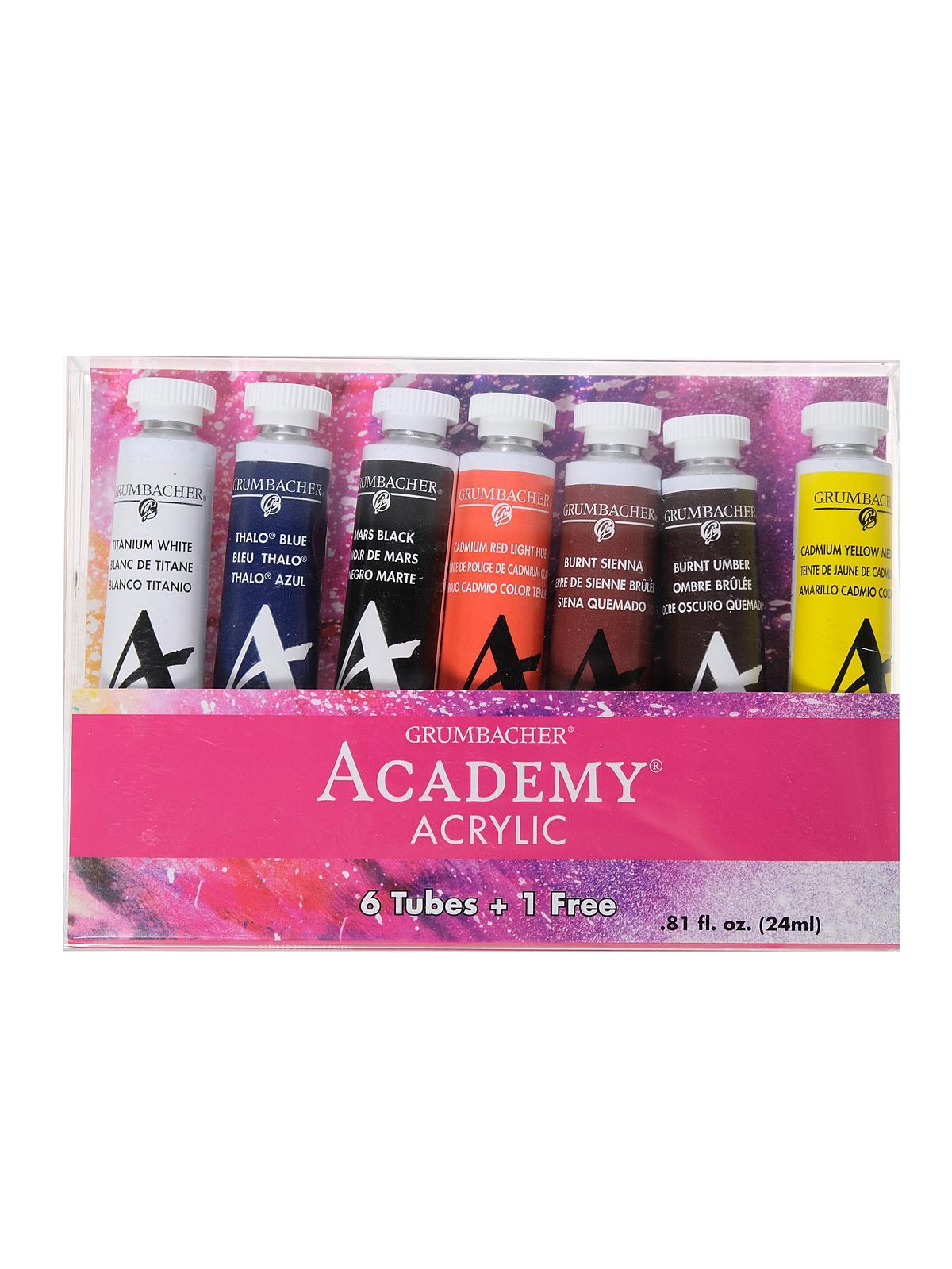 Academy Acrylic Bonus Set
