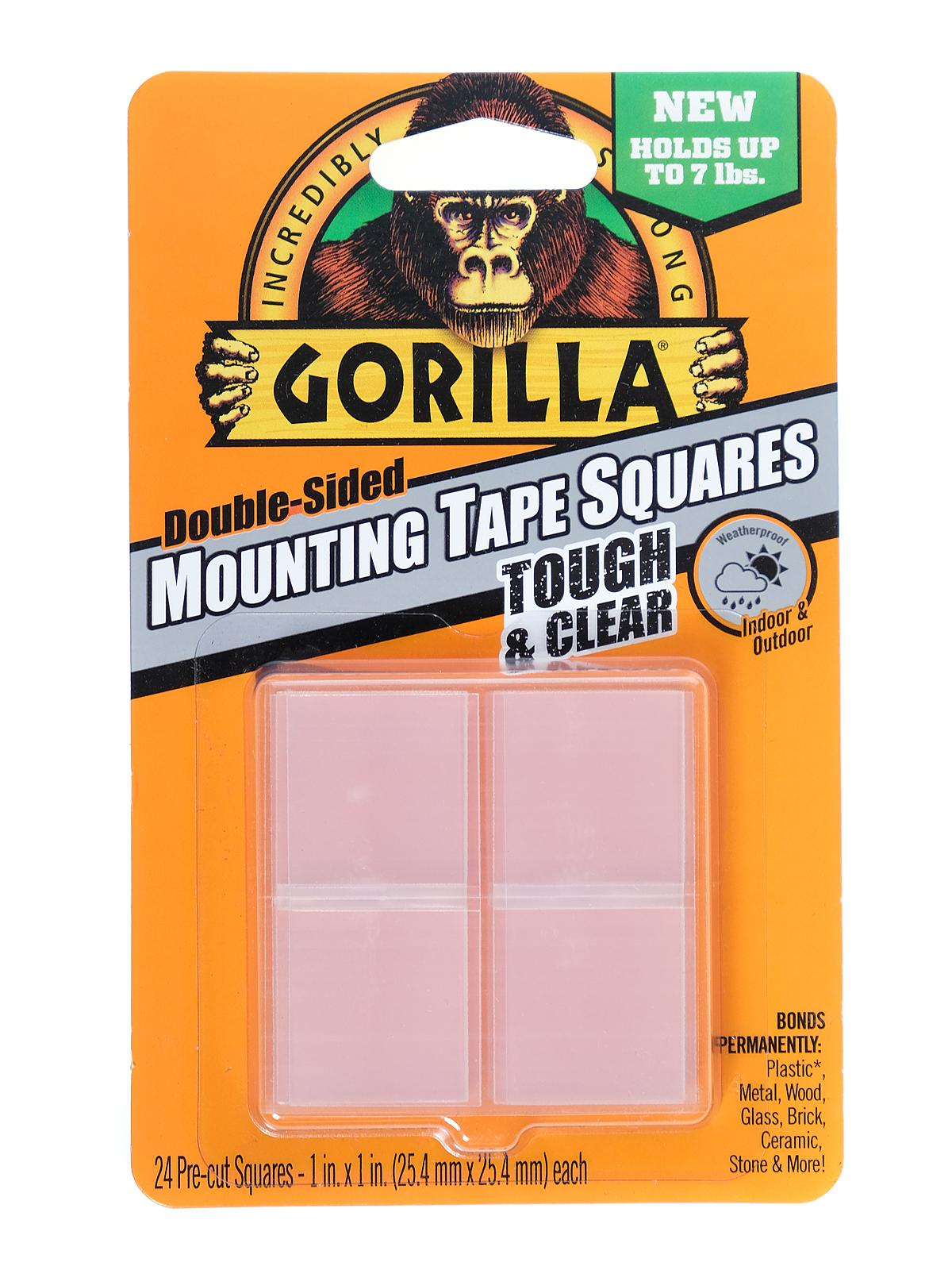 The Gorilla Glue Company - Clear Mounting Tape Squares