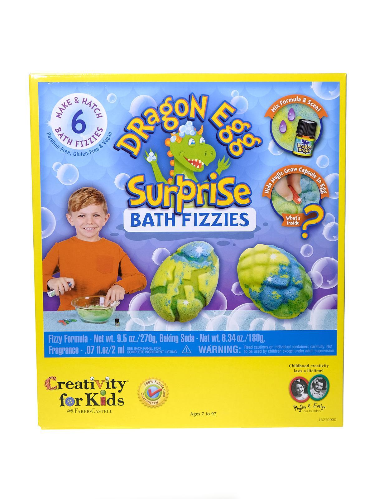 Creativity For Kids - Dragon Egg Surprise Bath Fizzies