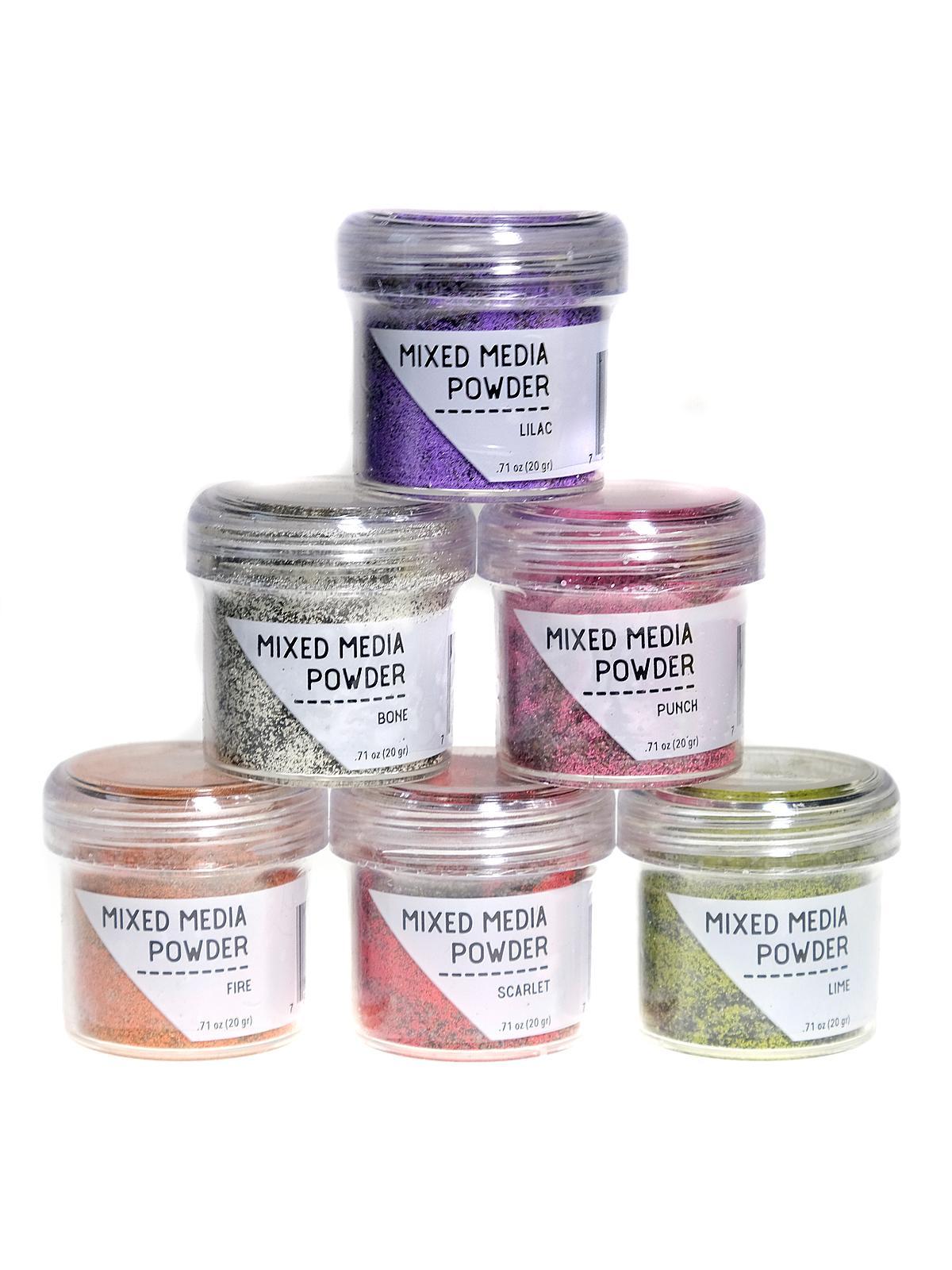 Mixed Media Powders