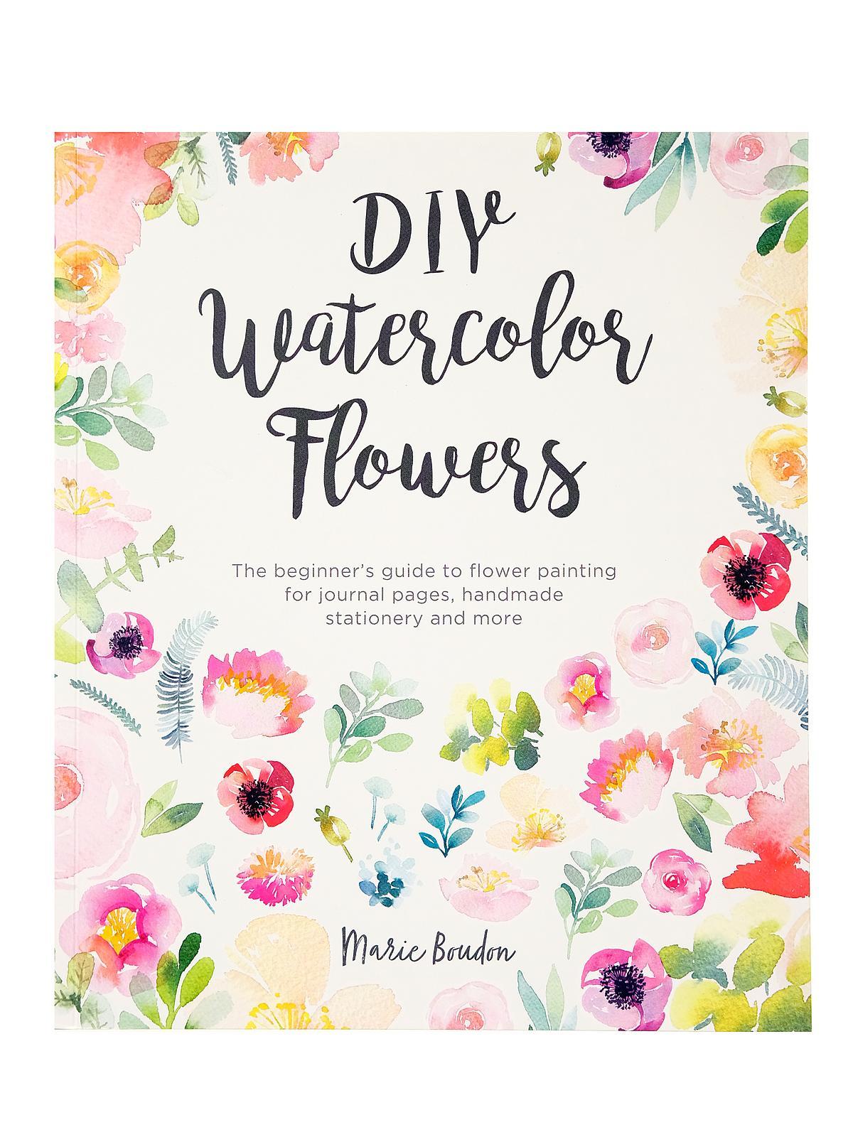 DIY Watercolor Flowers