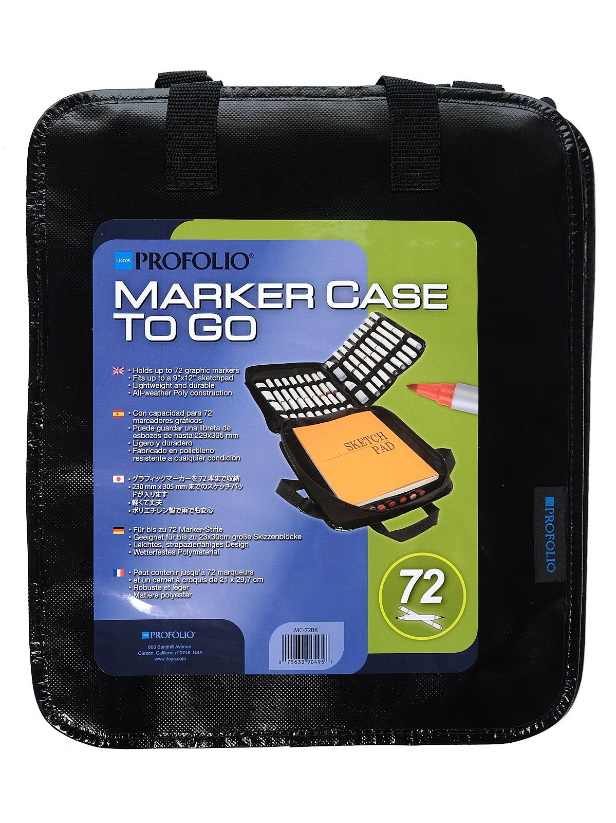 Profolio Marker Case To Go