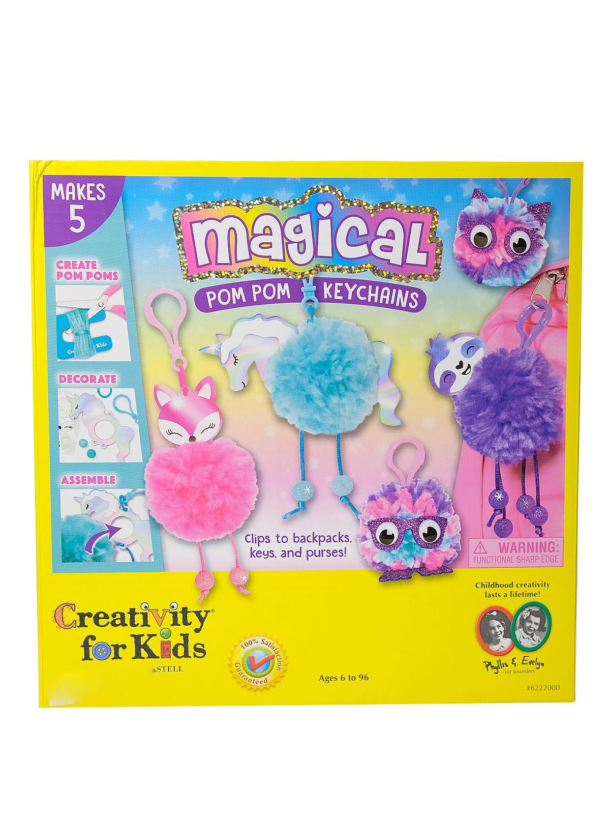 Creativity For Kids - Magical Pom Pom Keychains