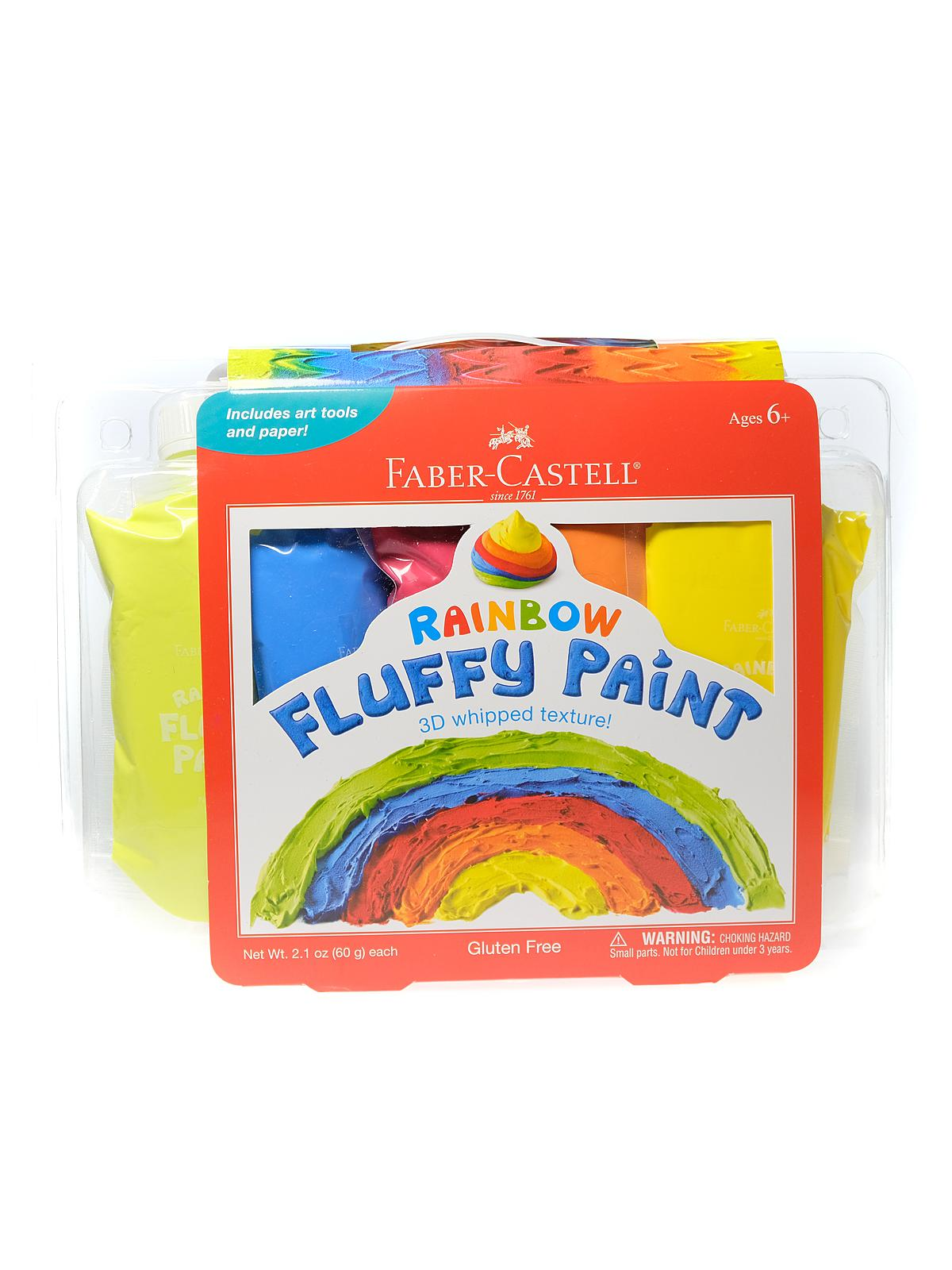 Rainbow Fluffy Paint