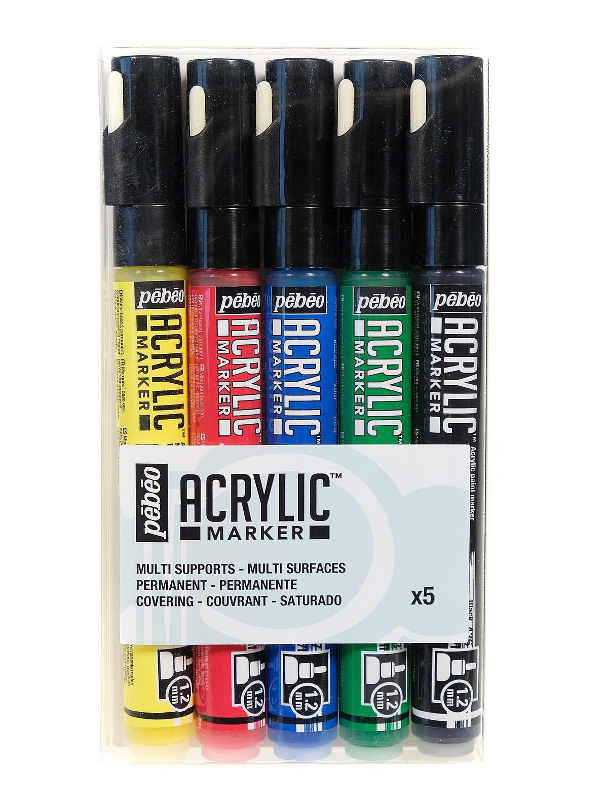 Acrylic Marker Sets