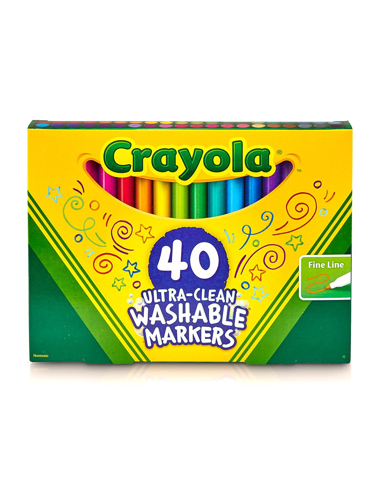 Washable Marker 40 Sets
