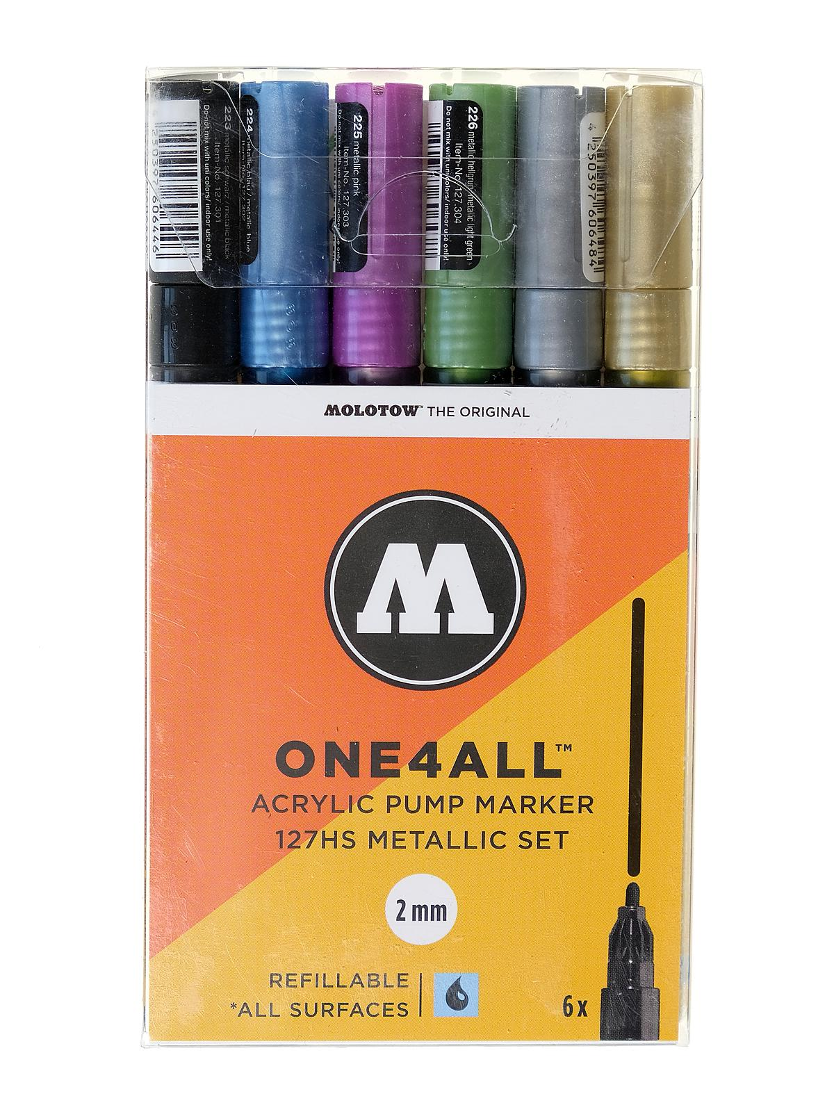 One4All Paint Marker Sets