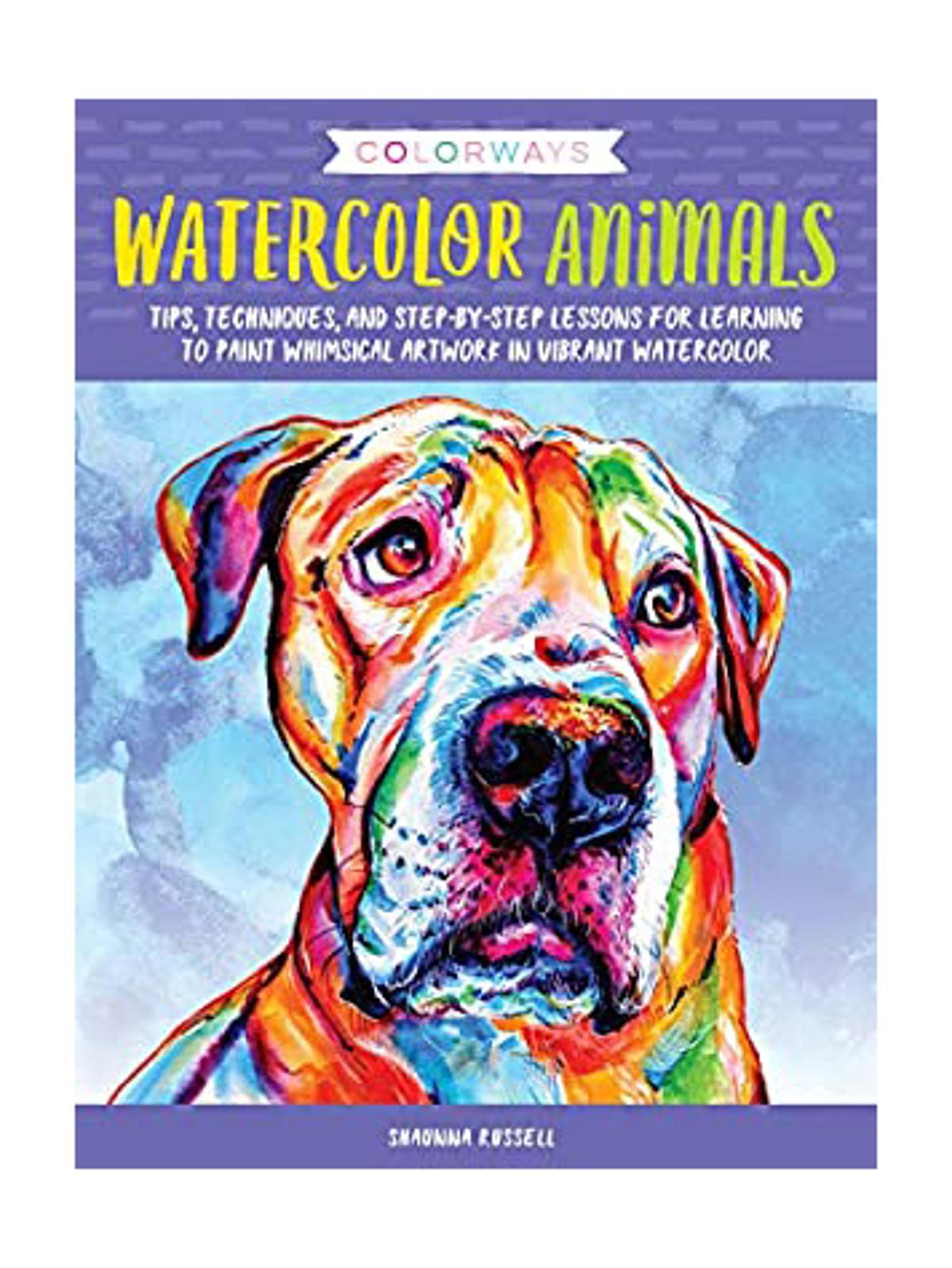 Walter Foster - Colorways: Watercolor Animals