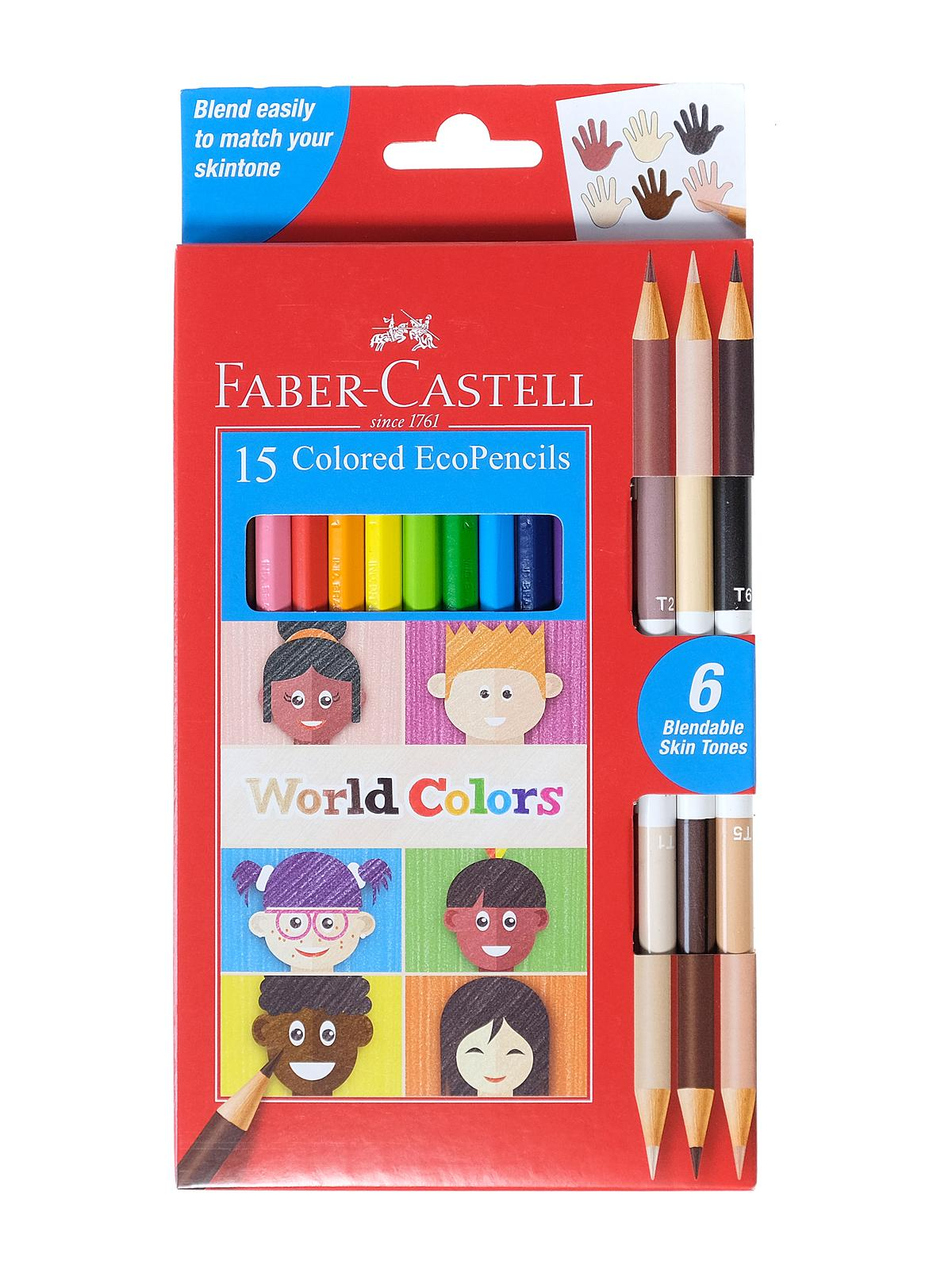 Faber-Castell - World Colors EcoPencils