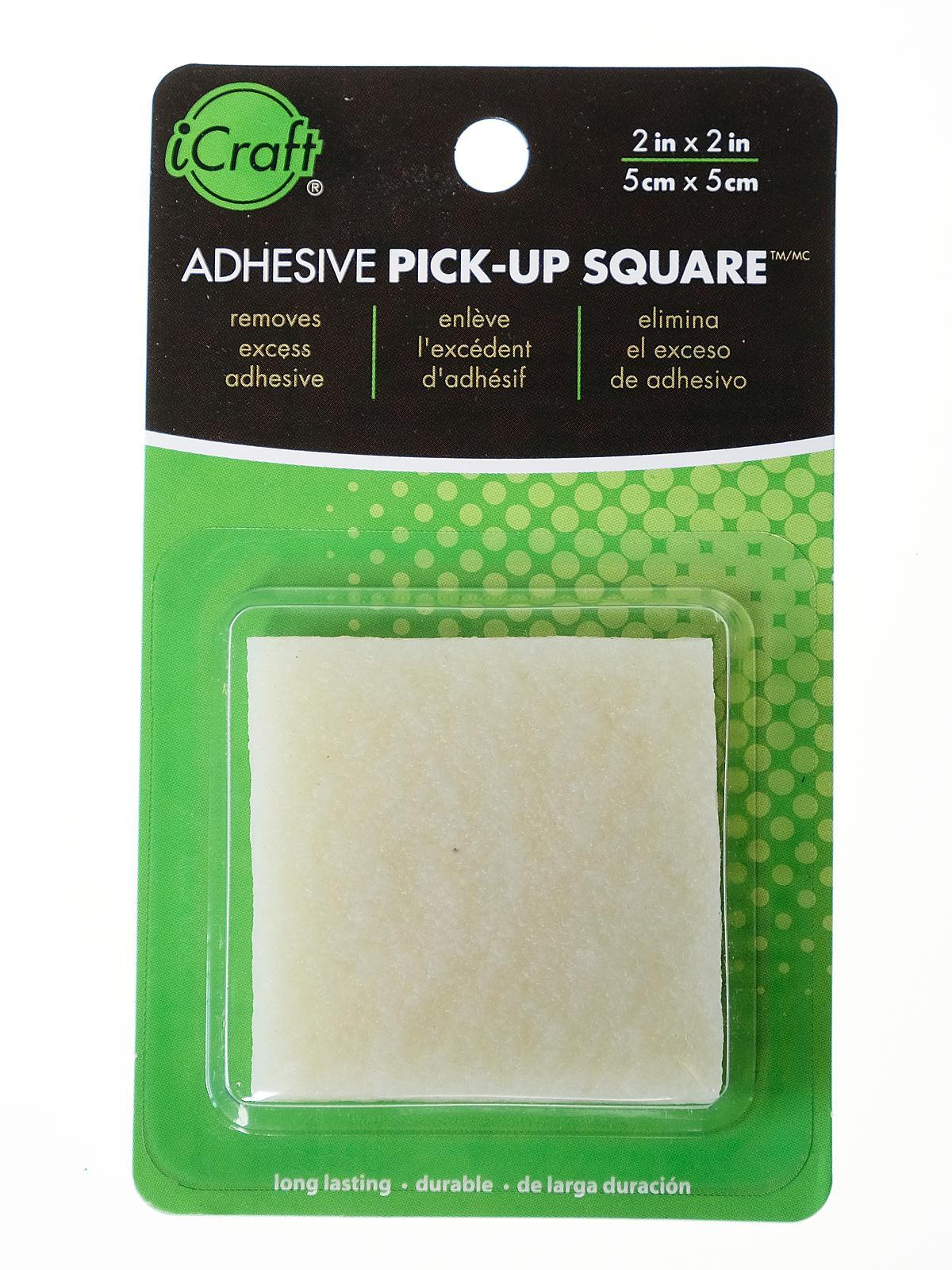 Adhesive Pick-Up Square