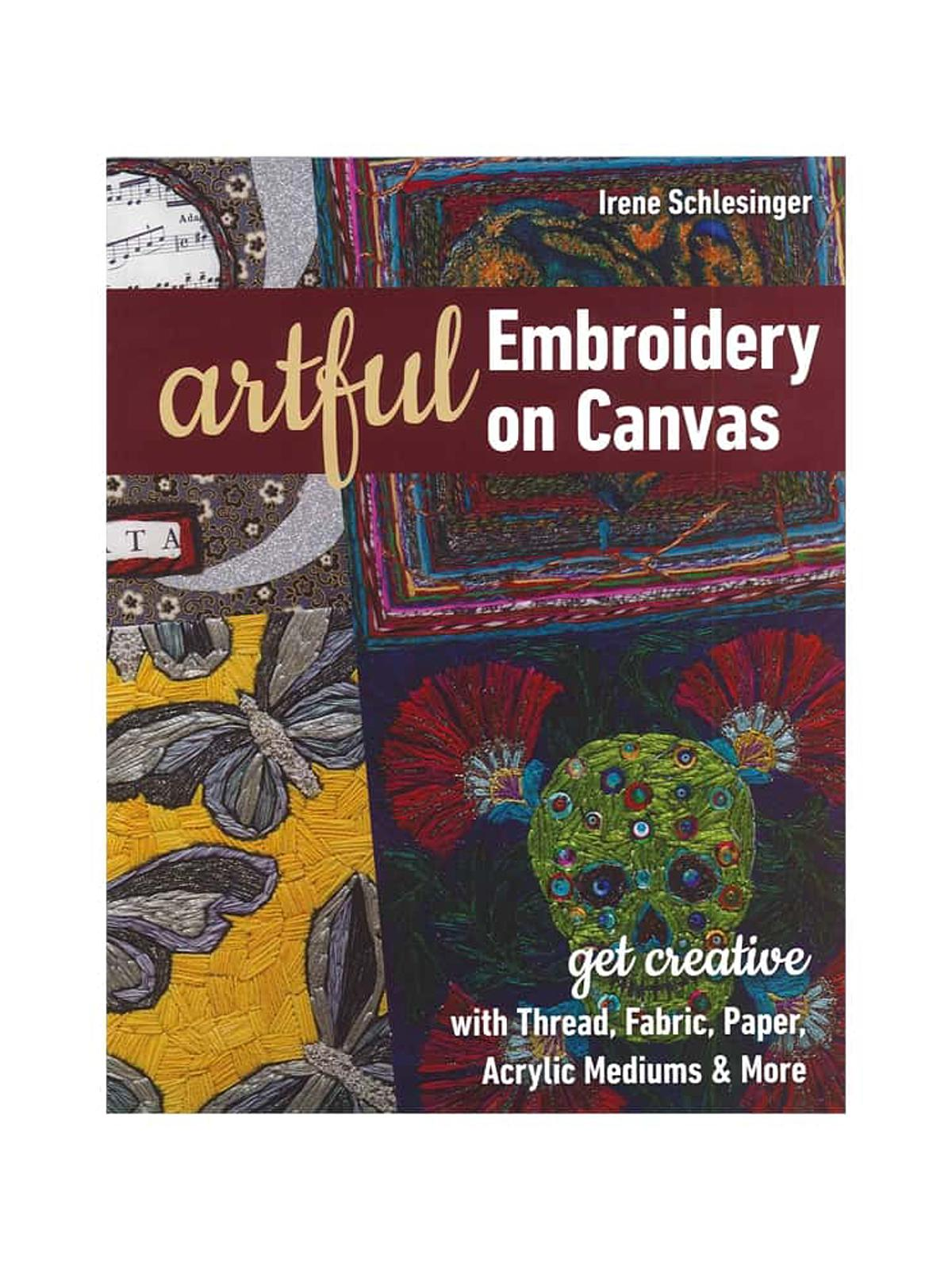 Artful Embroidery on Canvas