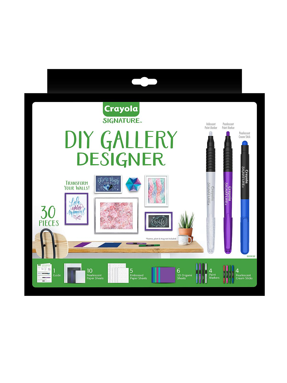 Signature DIY Gallery Designer Set