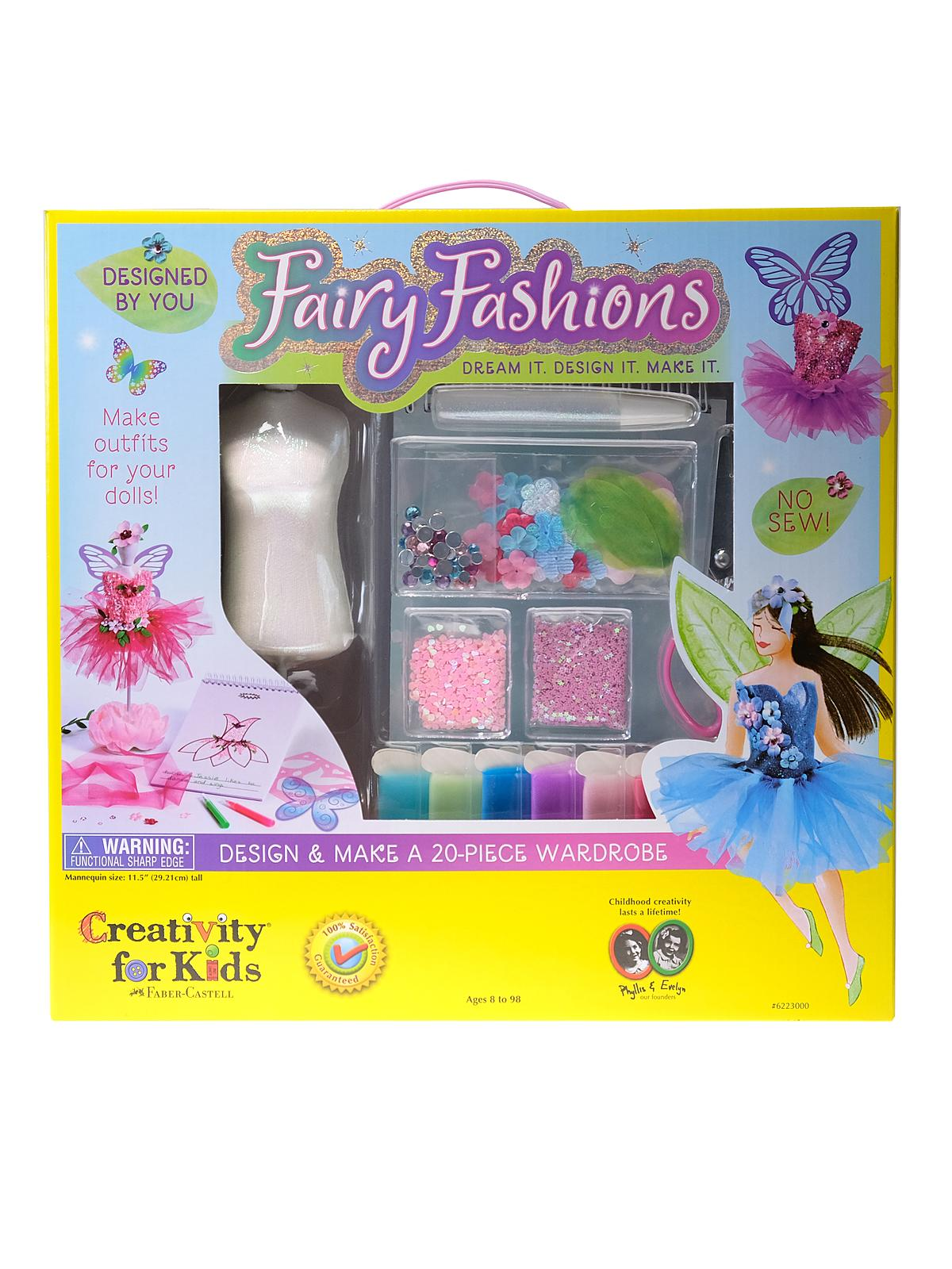 Creativity For Kids - Designed by You Fairy Fashions