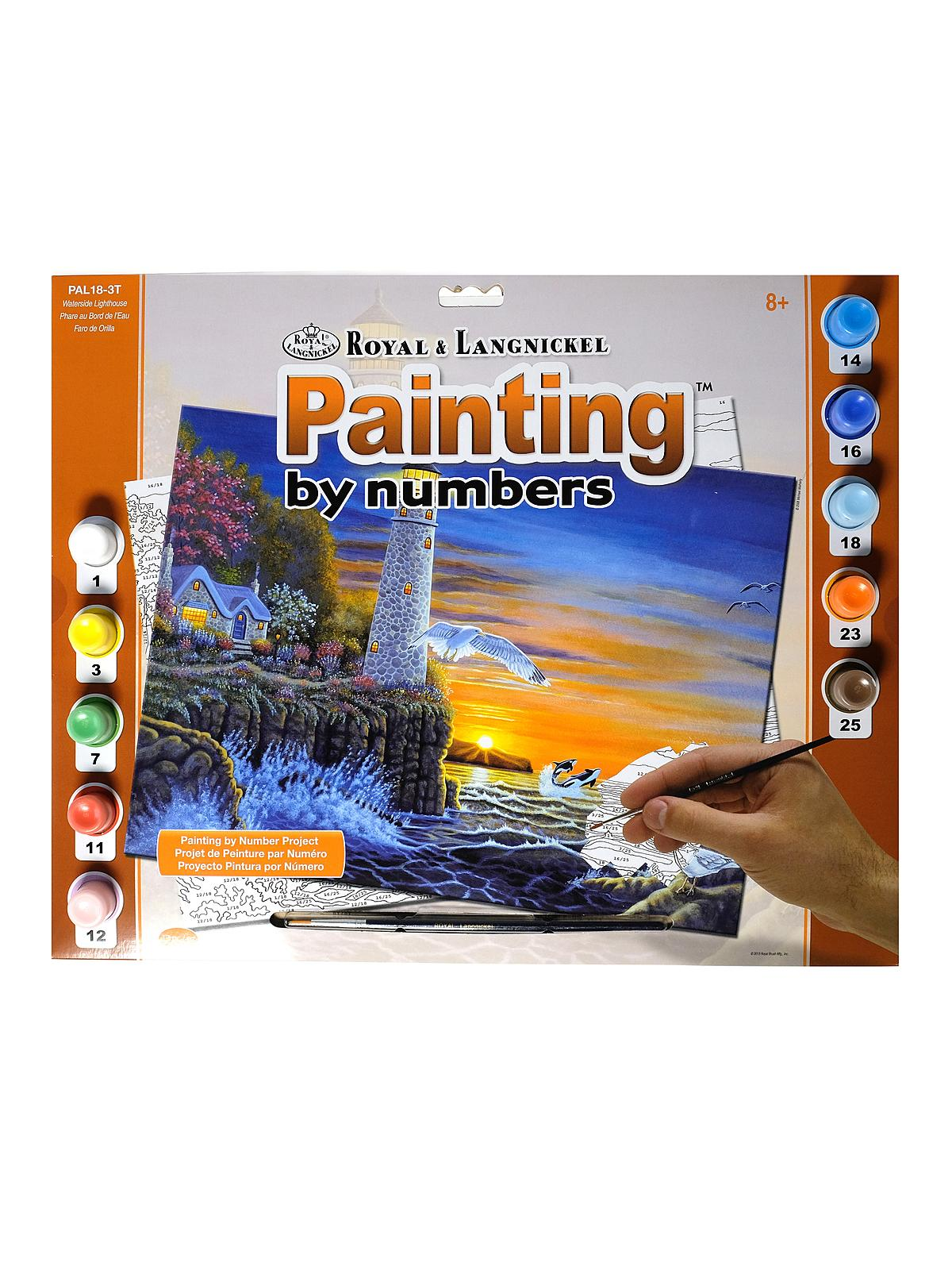 Painting By Numbers Senior