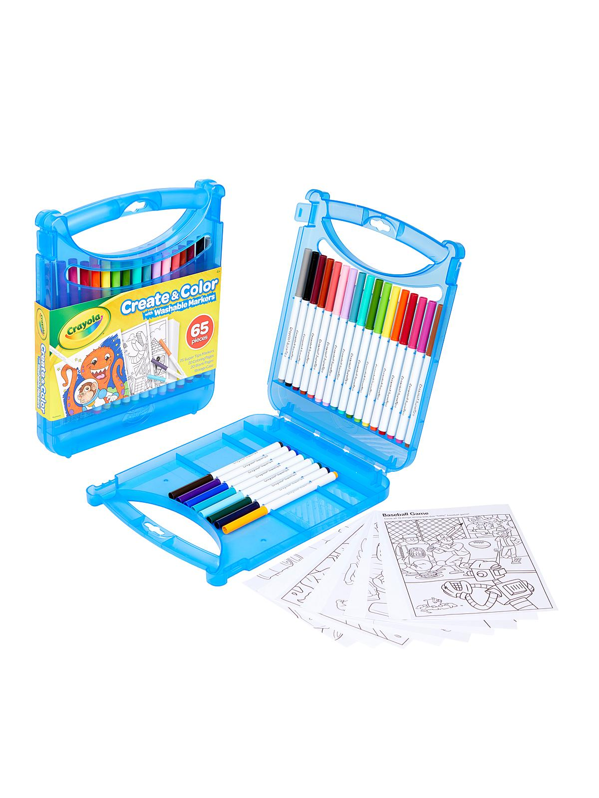 Create & Color with Super Tips Washable Markers