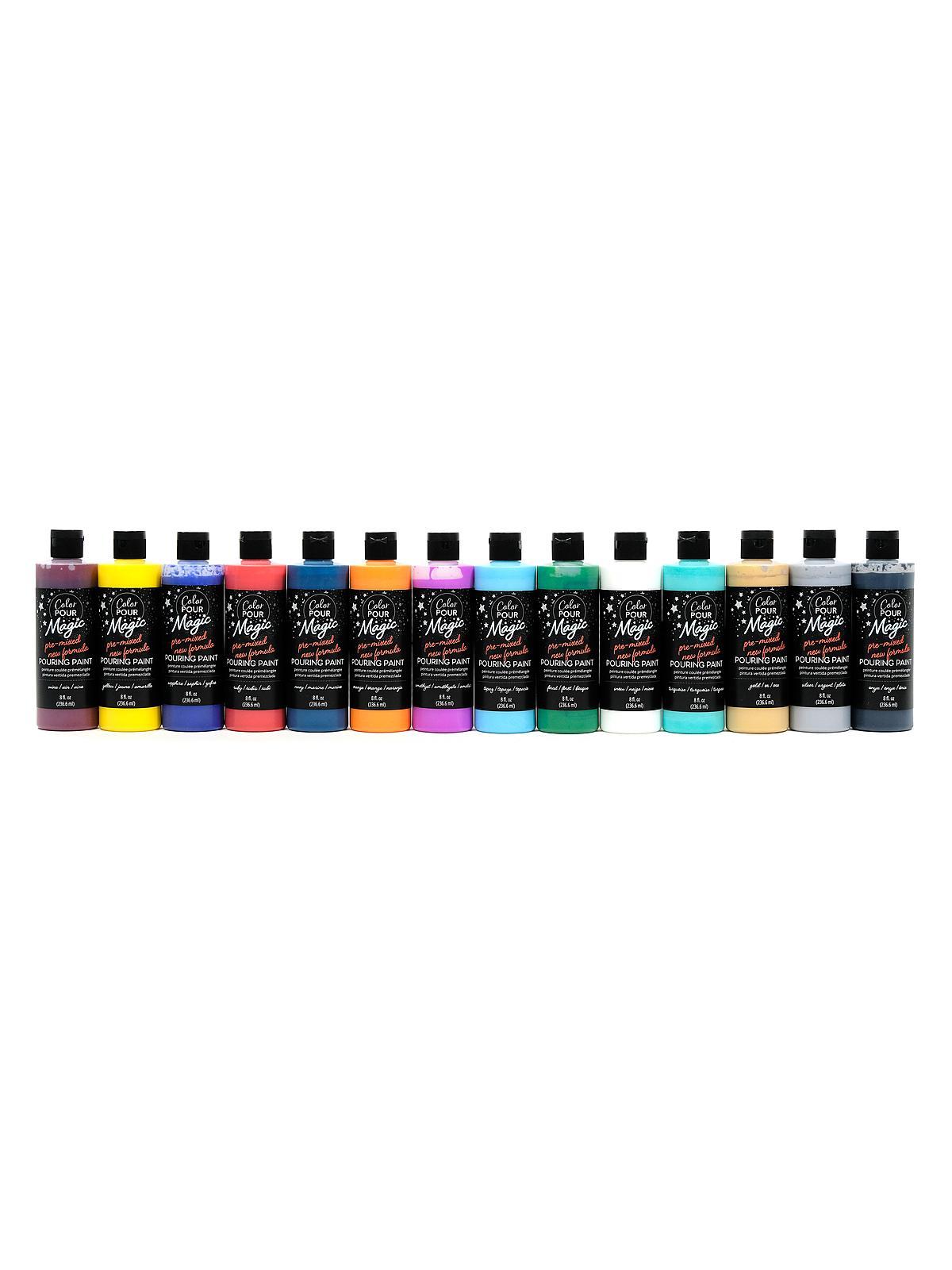 American Crafts - Color Pour Magic Pre-Mixed Pouring Paint