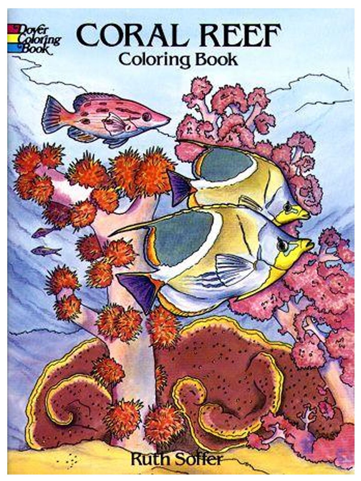 Dover - Coral Reef Coloring Book